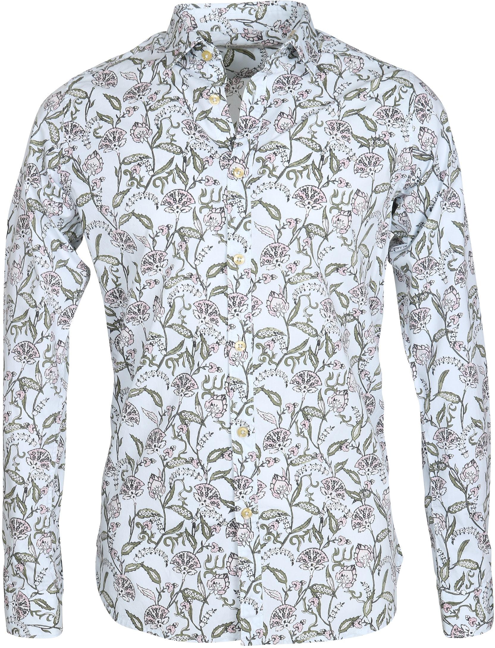 Dstrezzed Overhemd Dessin Bloem foto 0