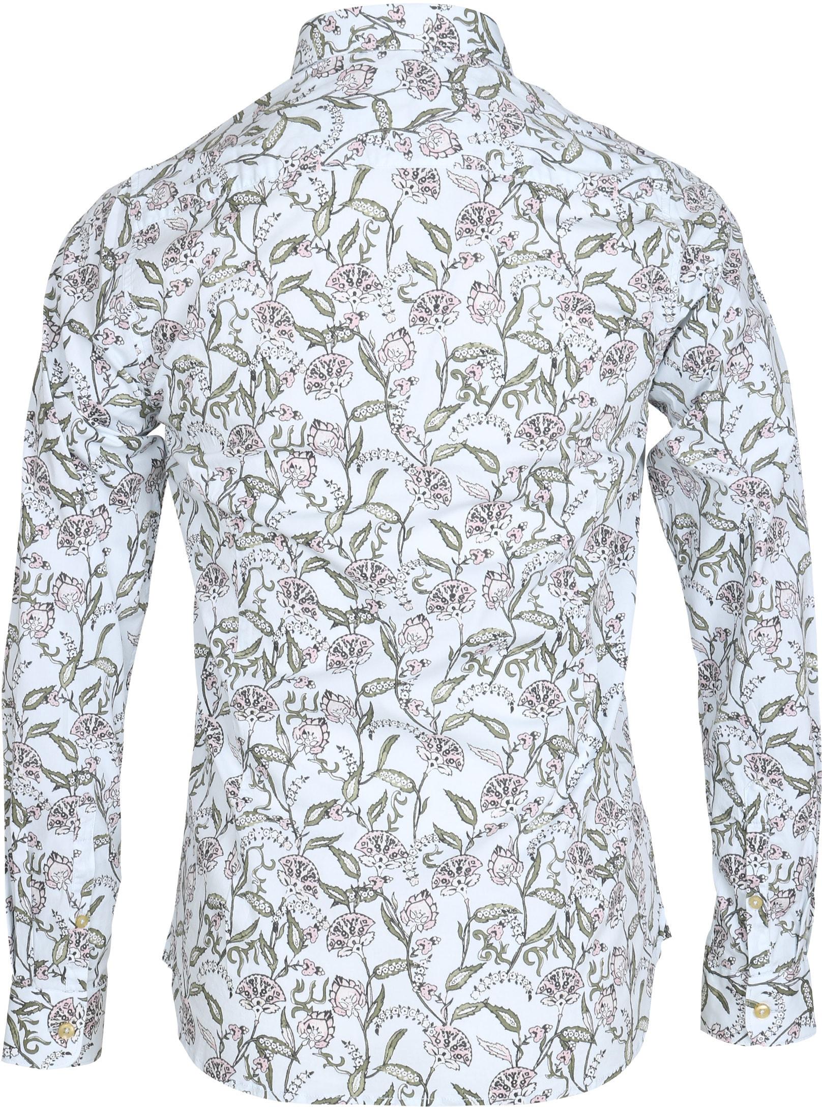 Dstrezzed Overhemd Dessin Bloem foto 2
