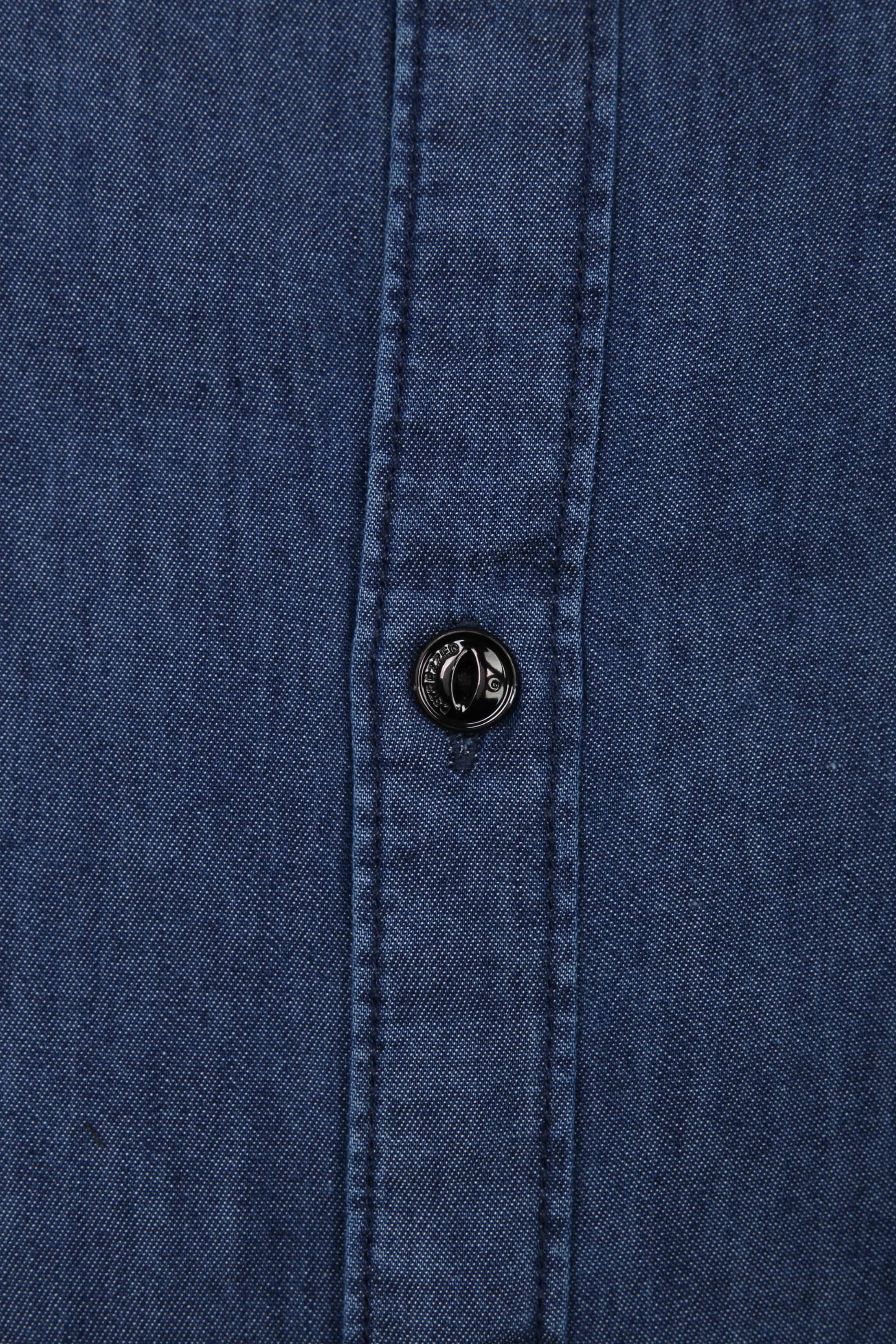 Dstrezzed Overhemd Lt Denim foto 2