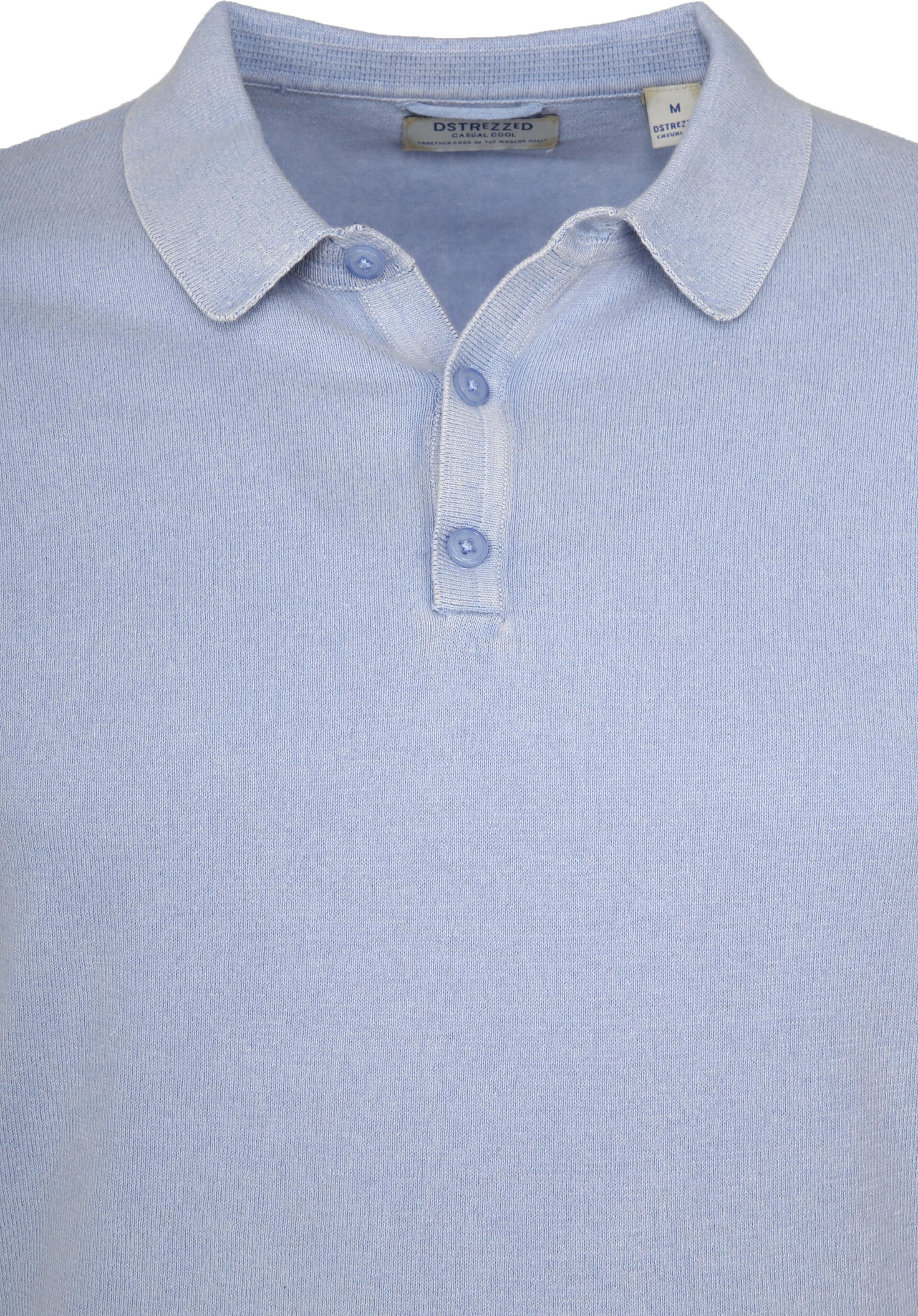Dstrezzed Polo Acid Lichtblauw foto 1