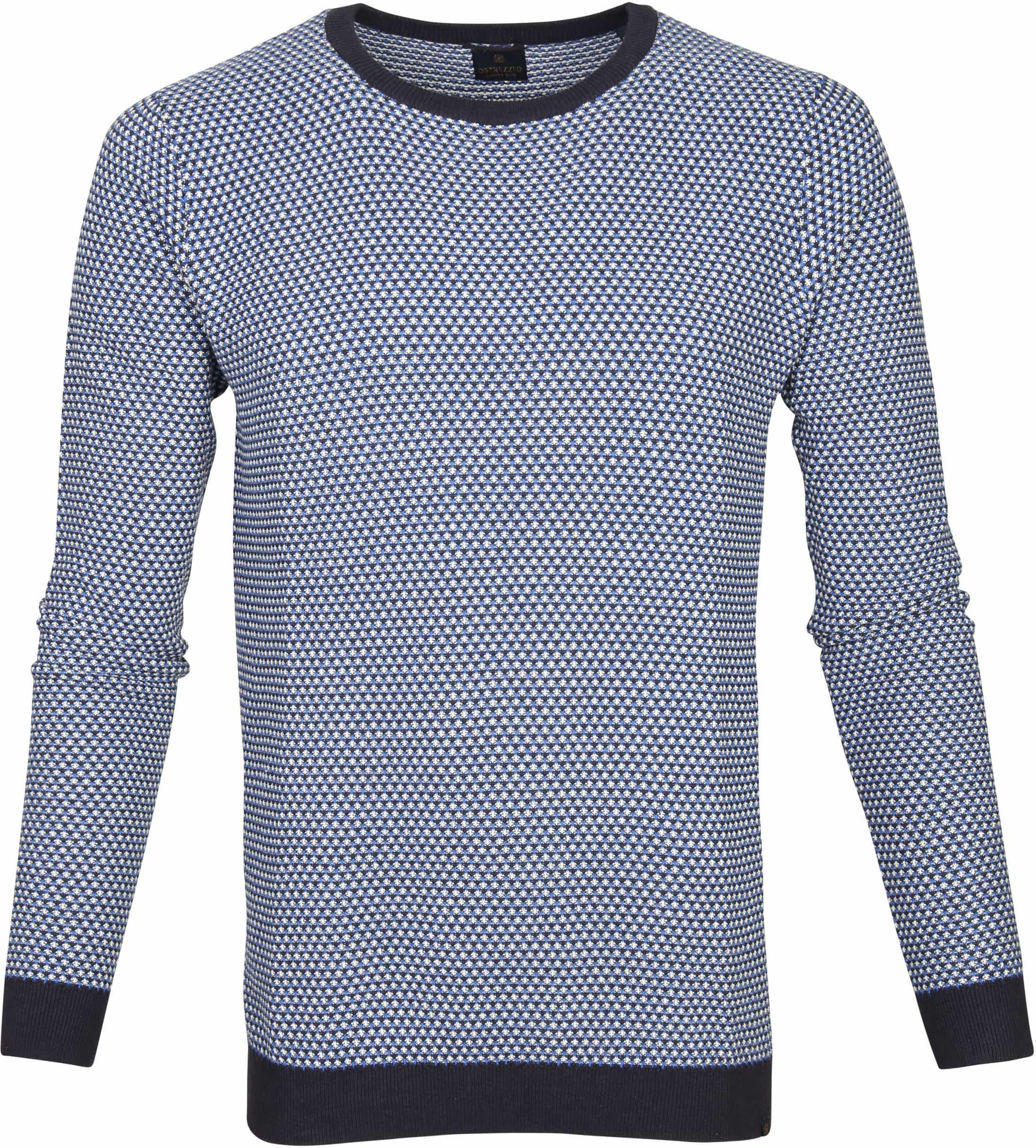 Dstrezzed Pullover Blossom Kobalt foto 0