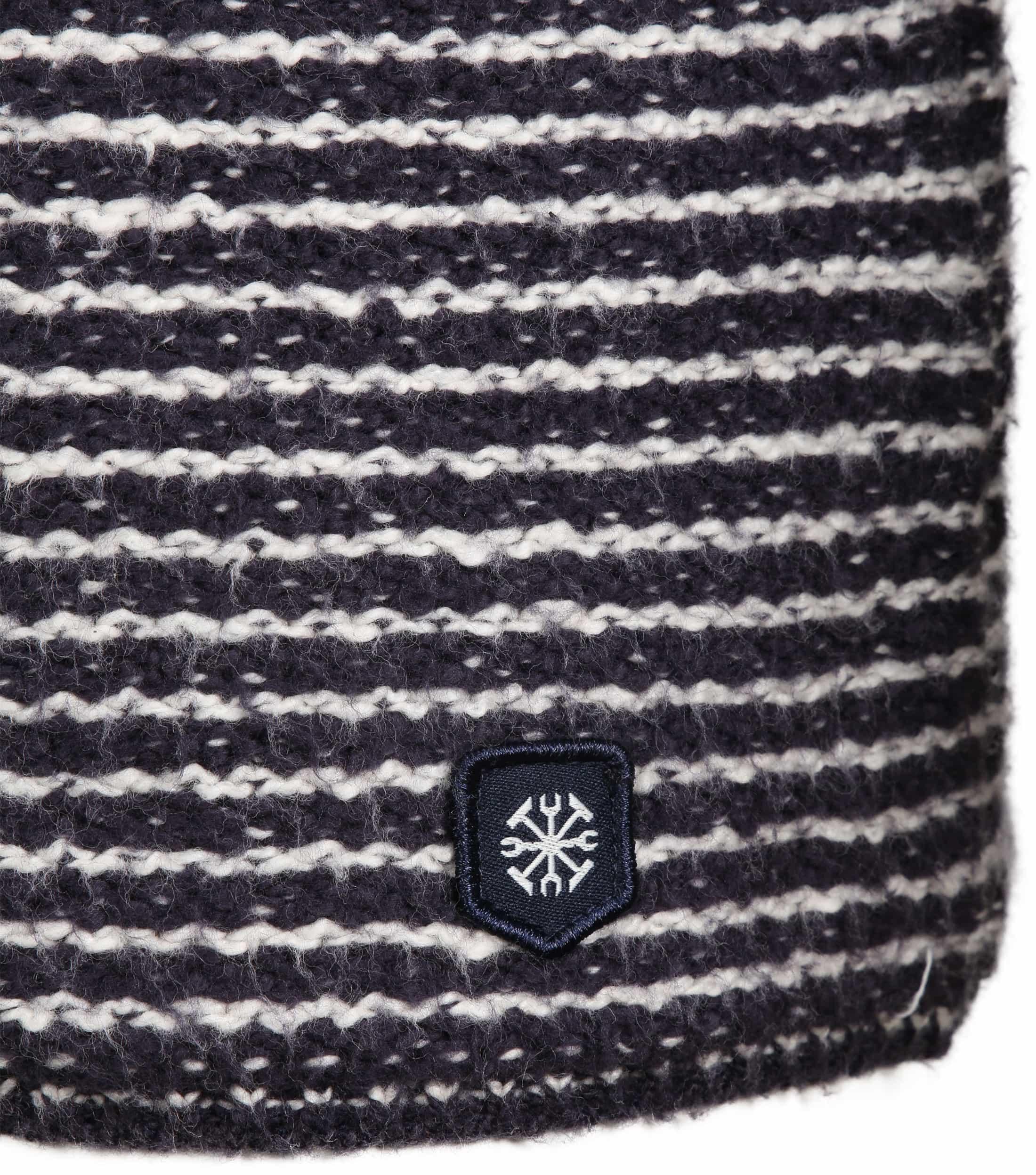 Dstrezzed Pullover Knit Navy foto 2