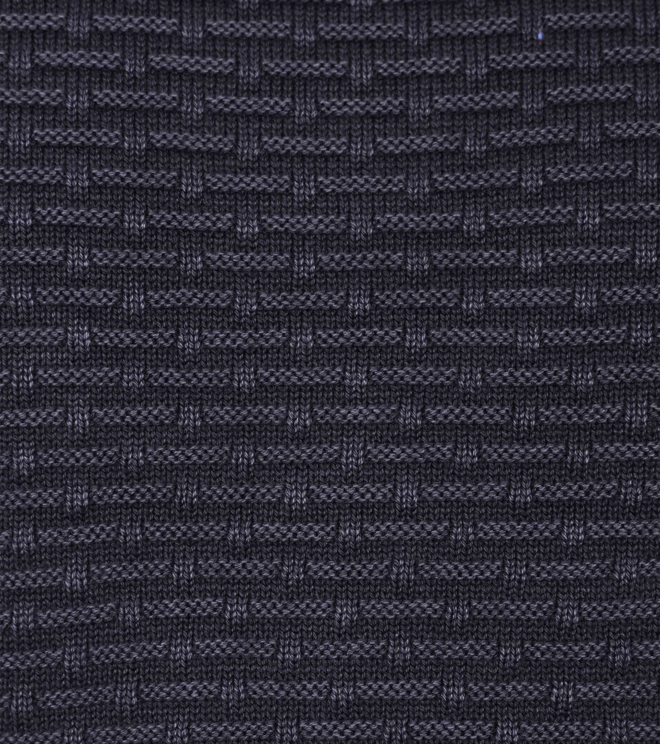 Dstrezzed Pullover Structure Navy foto 2