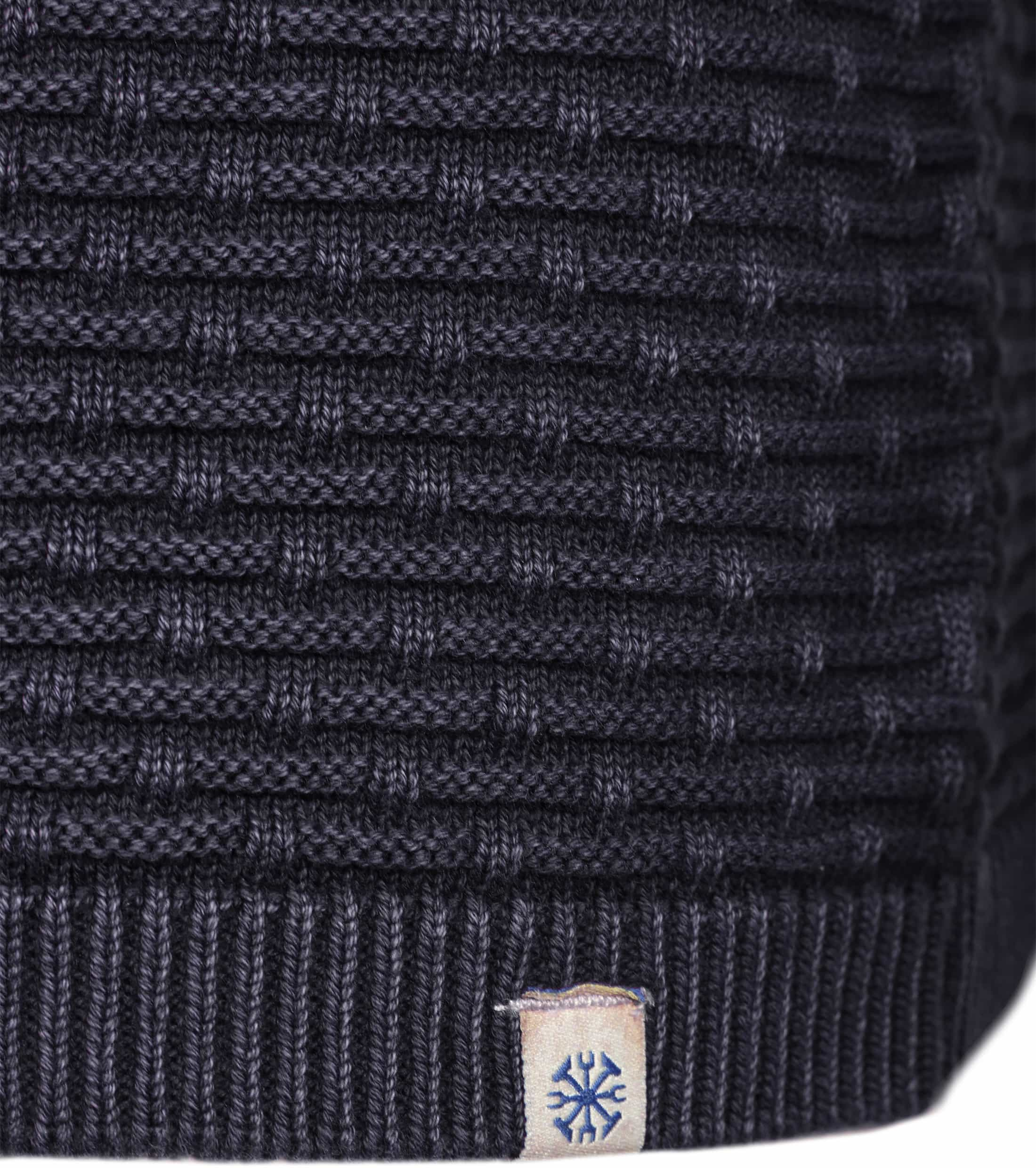 Dstrezzed Pullover Structure Navy foto 3