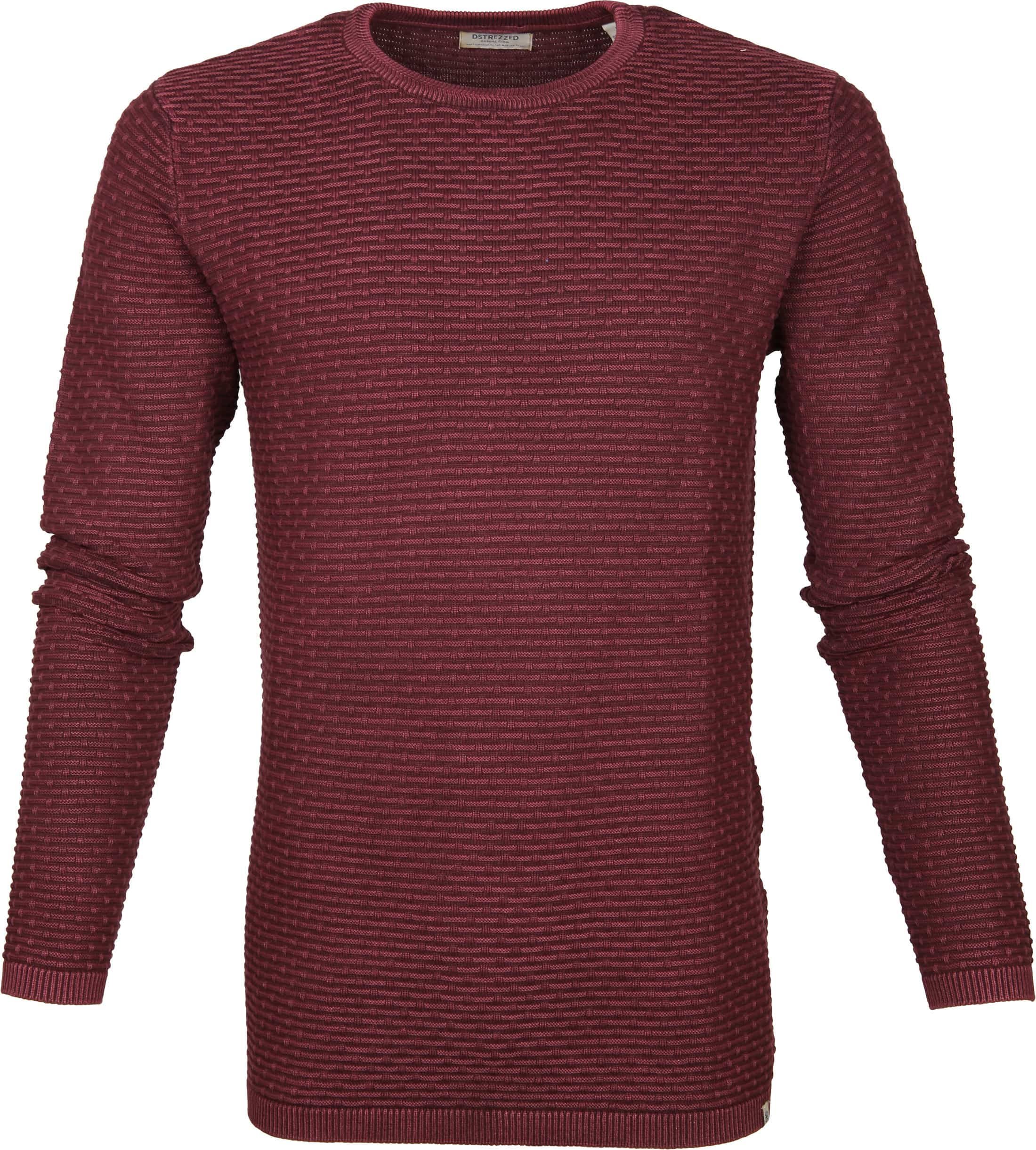 Dstrezzed Pullover Structure Red foto 0