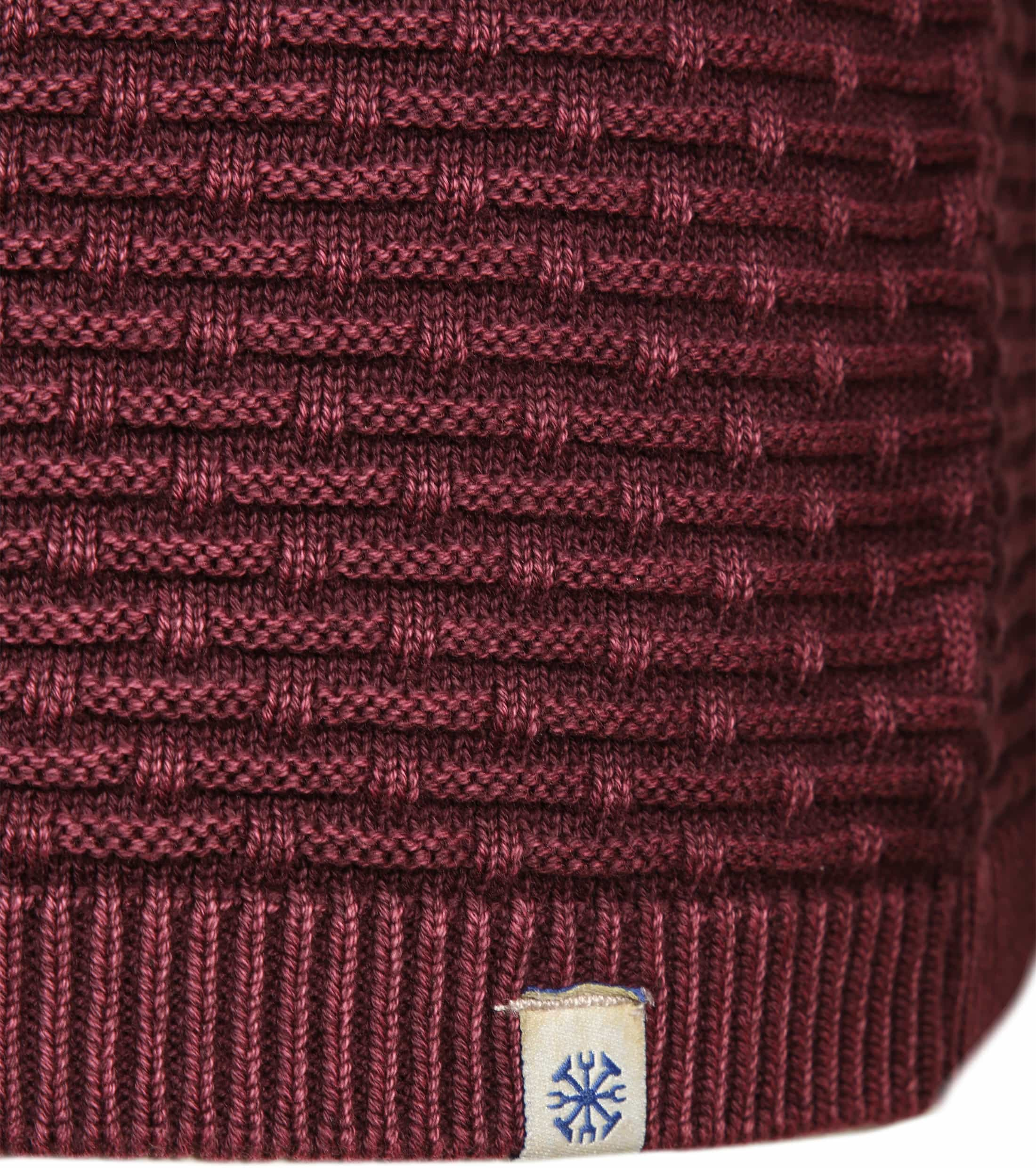 Dstrezzed Pullover Structure Red foto 2
