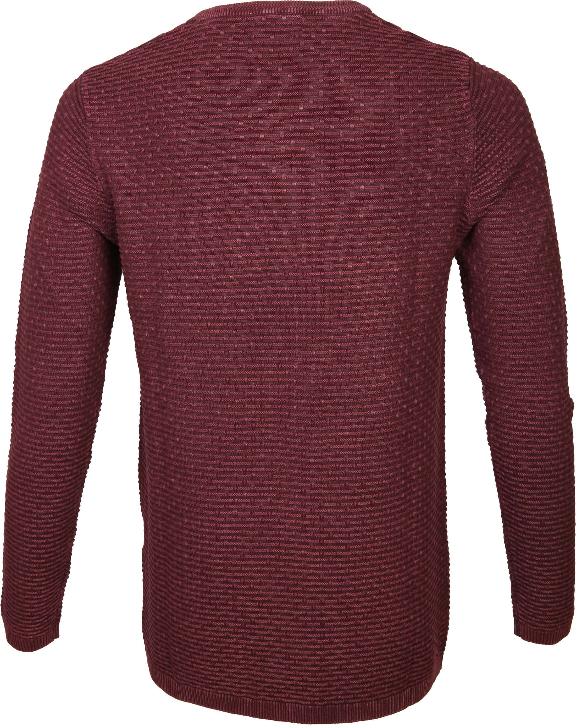 Dstrezzed Pullover Structure Red foto 3