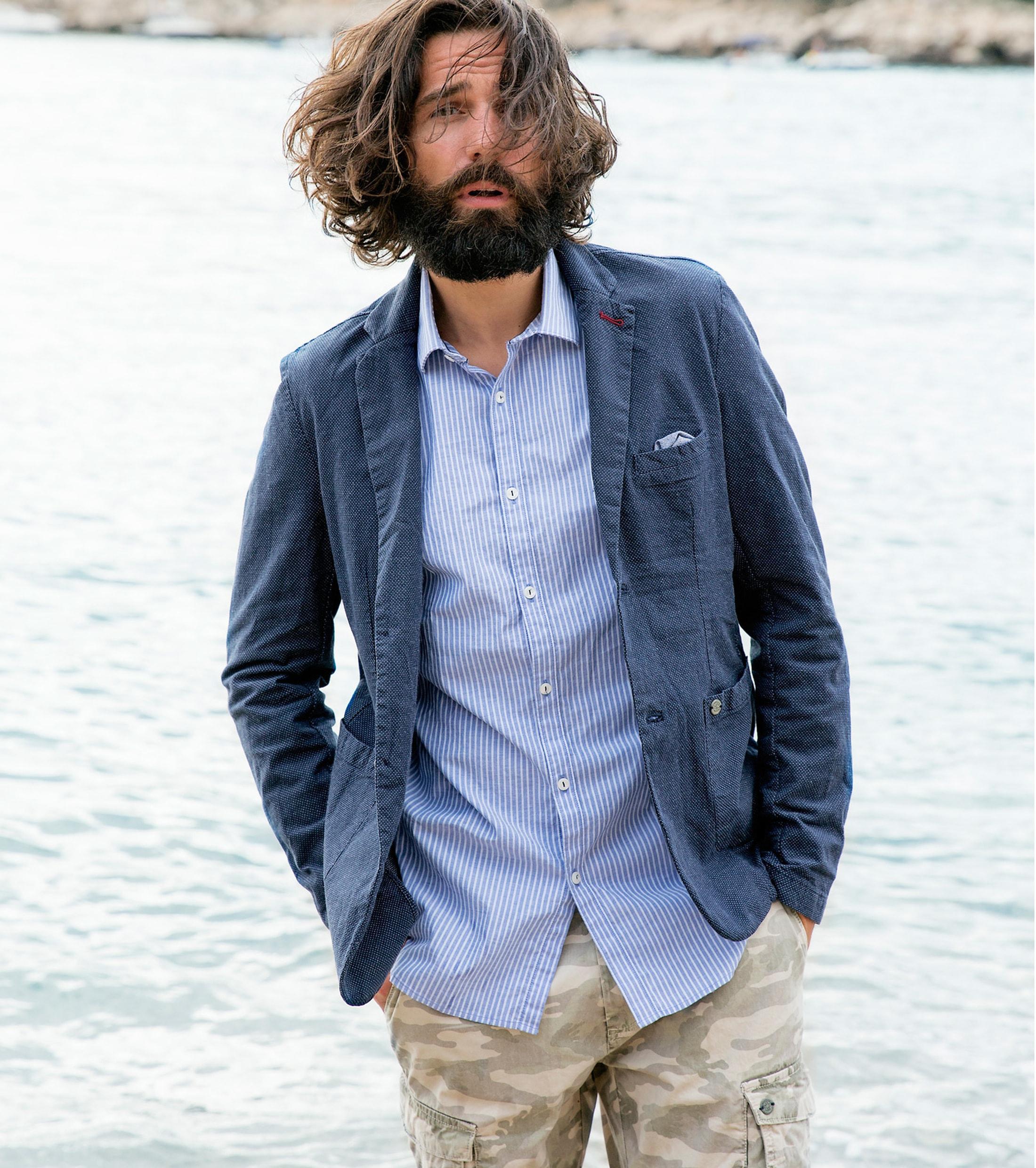 Dstrezzed Shirt Blue Stripe foto 4