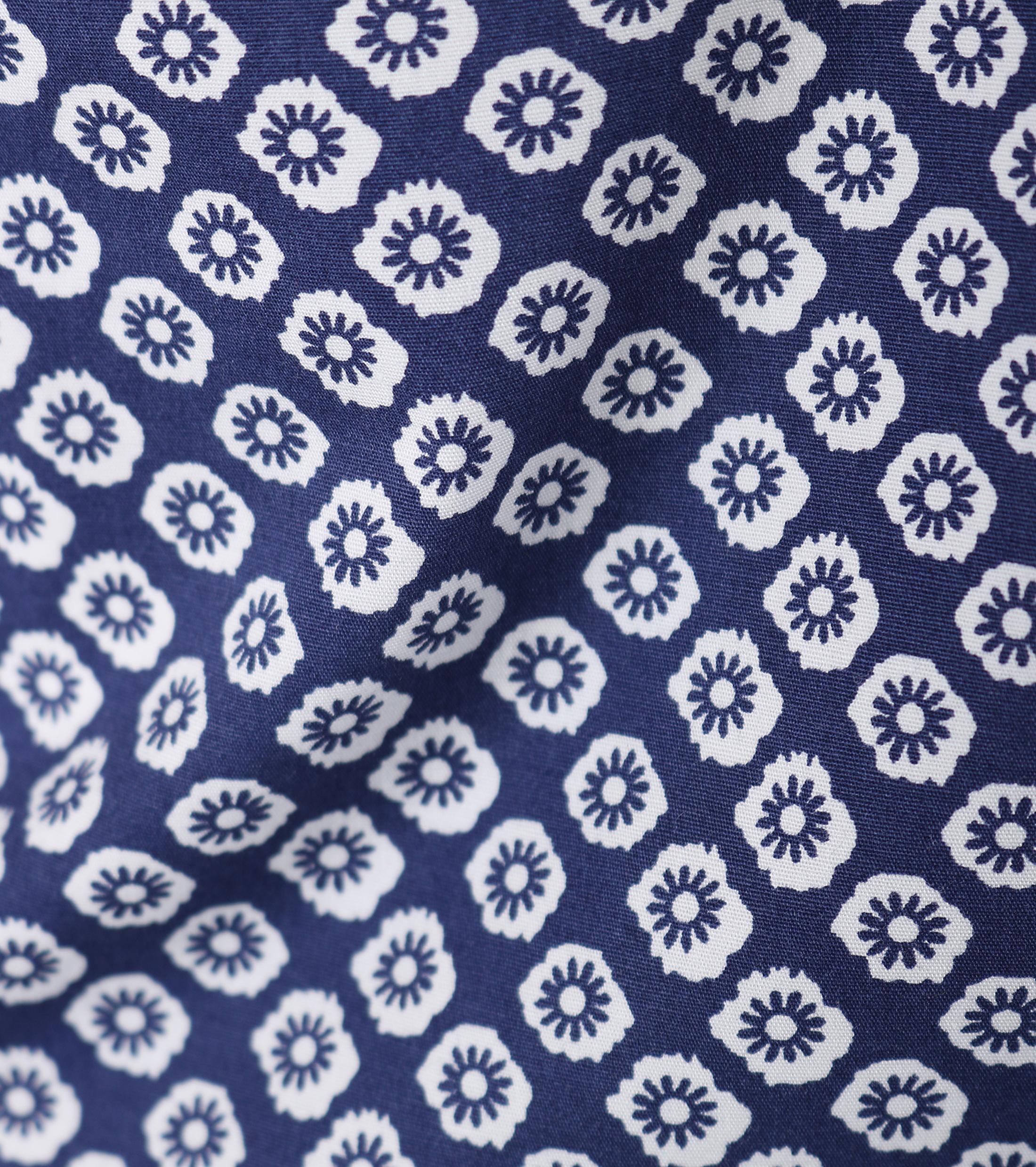Dstrezzed Shirt Korte Mouw Blauw foto 3