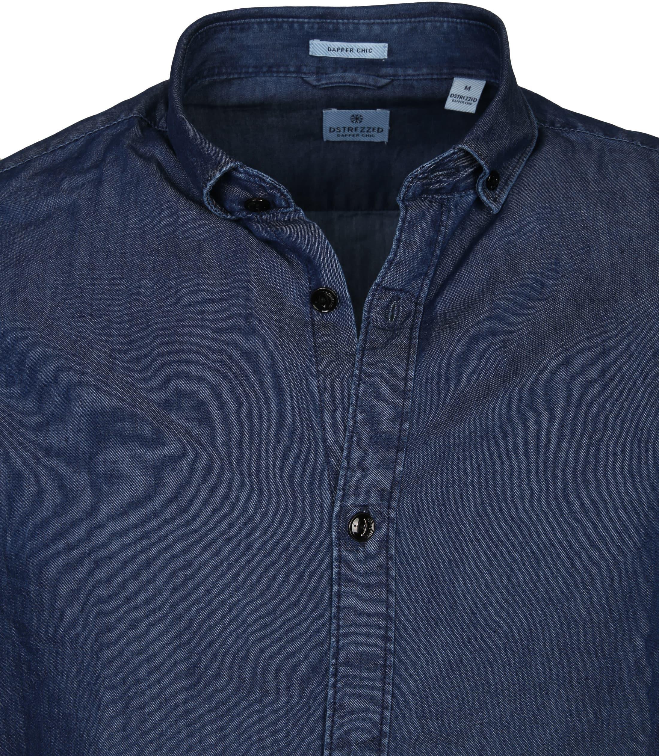 Dstrezzed Shirt Lt Denim foto 1