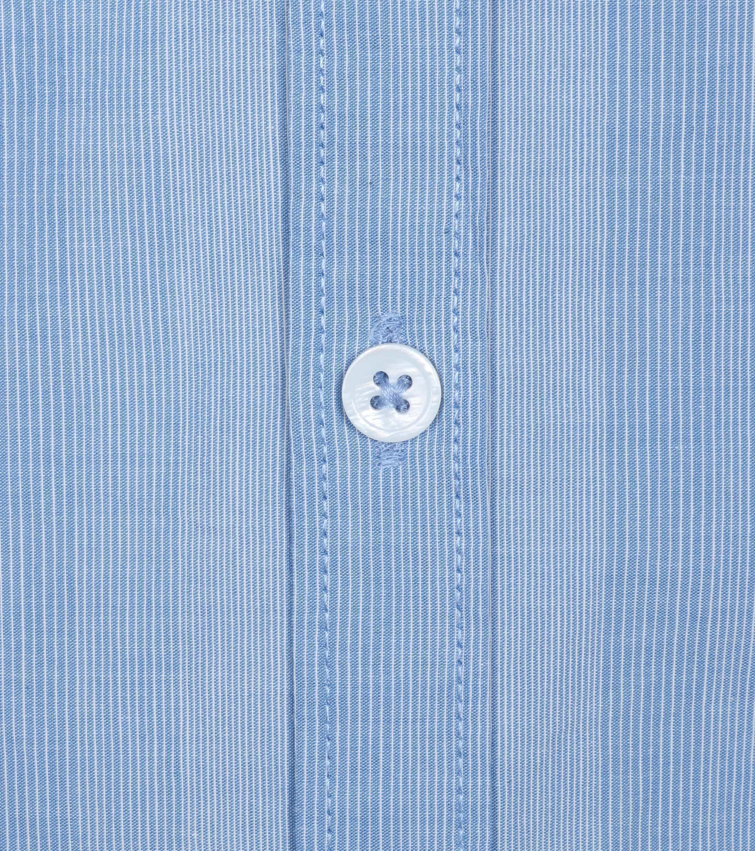 Dstrezzed Shirt Mao Streep Blauw foto 1