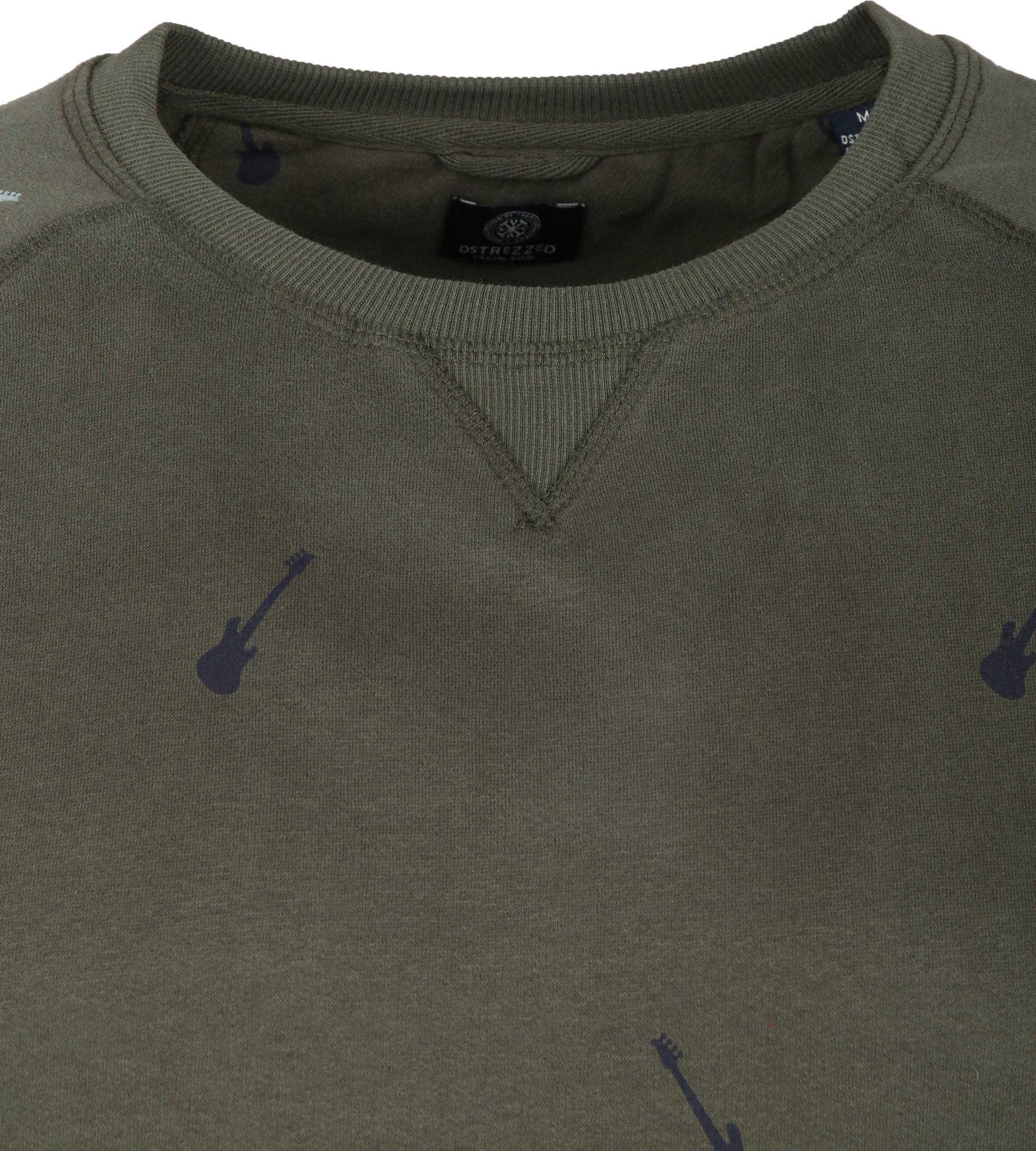 Dstrezzed Sweater Crew Peached Army foto 1