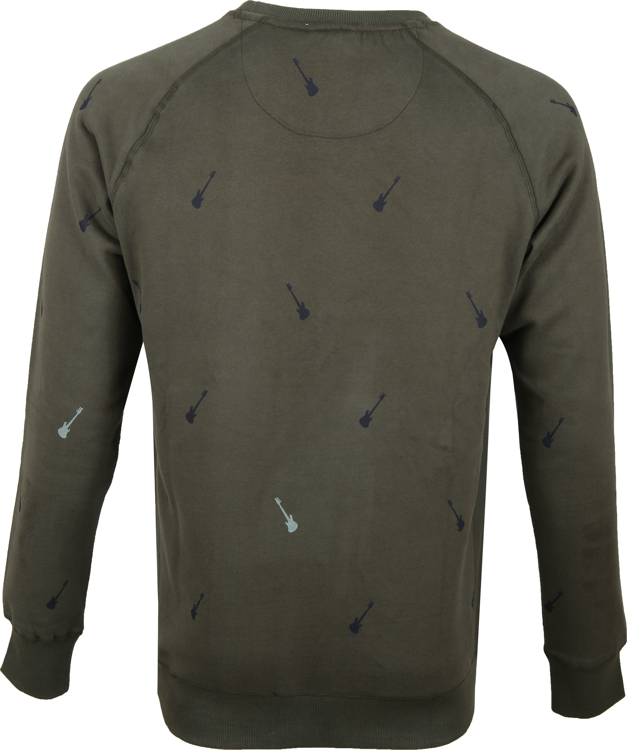 Dstrezzed Sweater Crew Peached Army foto 3