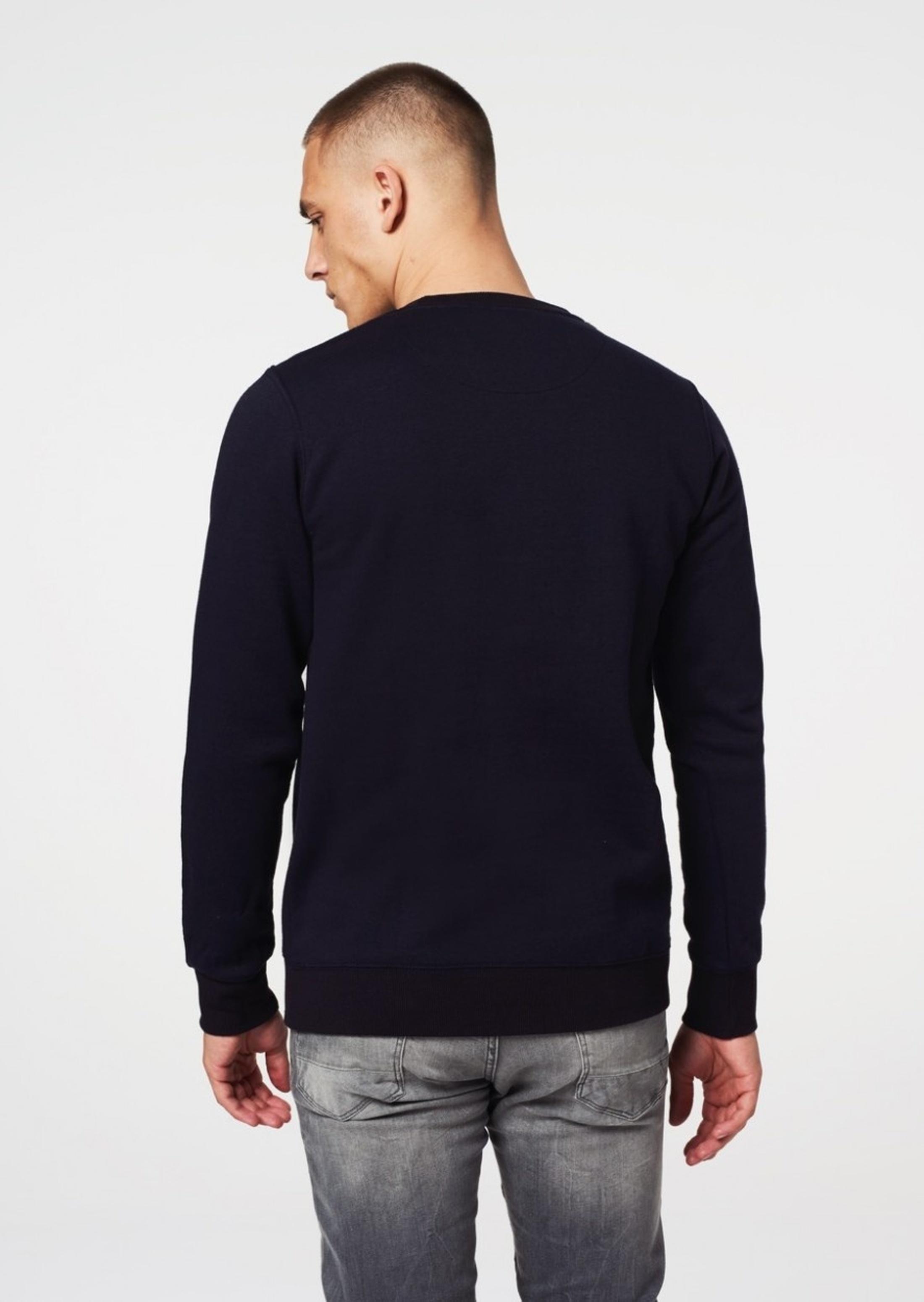 Dstrezzed Sweater Frère Donkerblauw foto 4