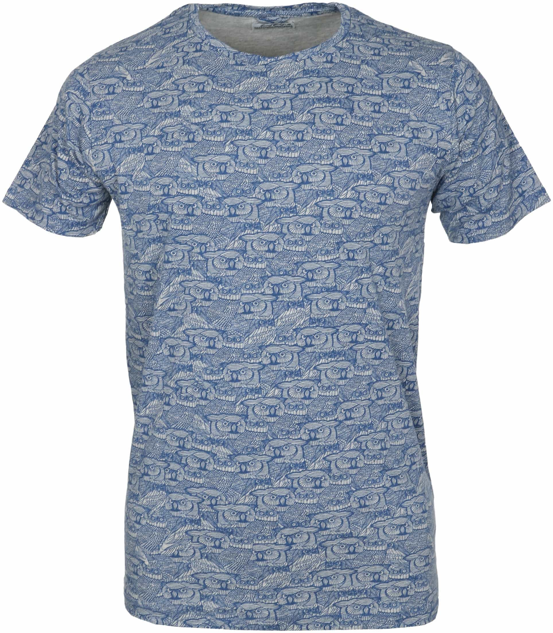 Dstrezzed T-shirt Dunkelblau Eule foto 0