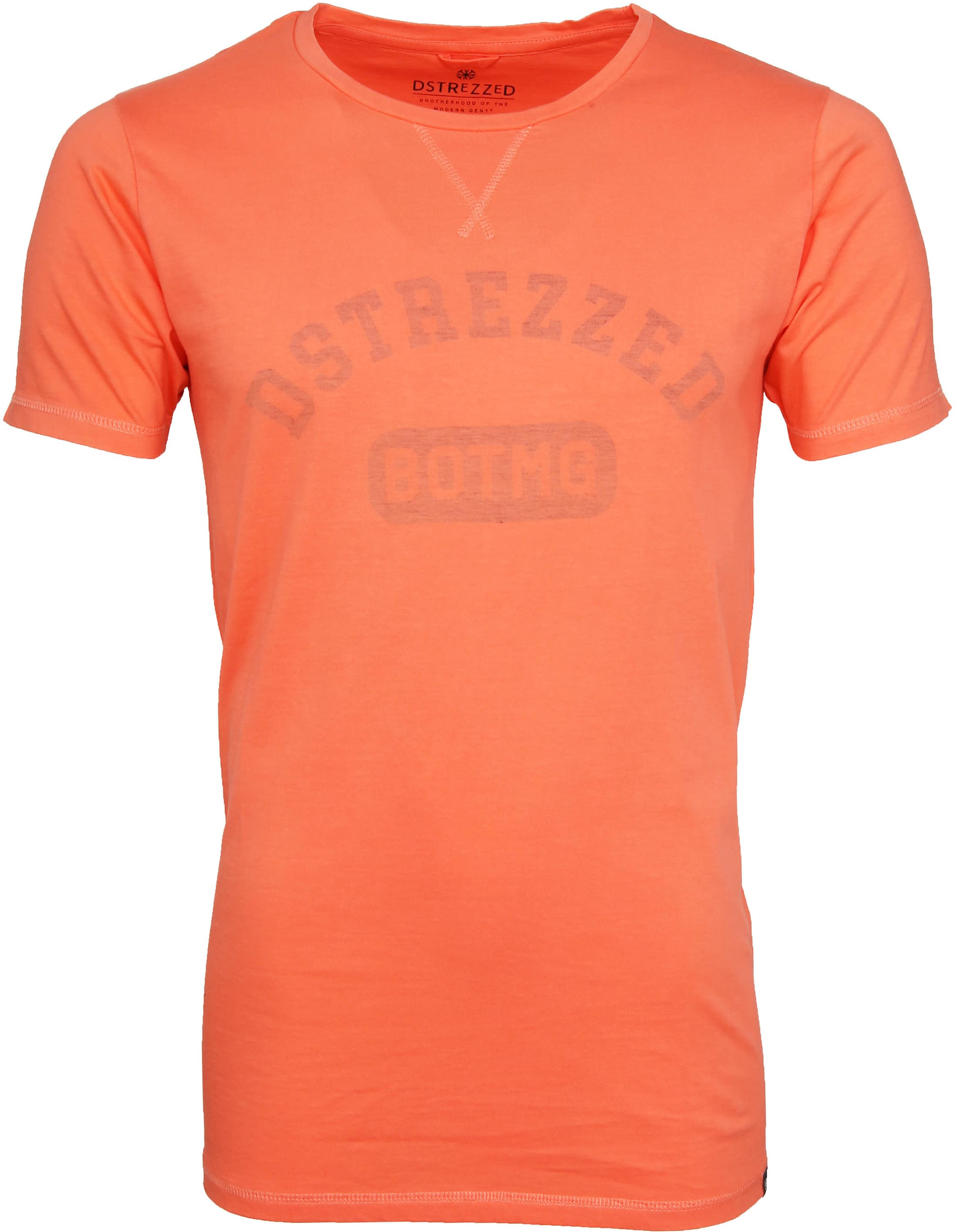 Dstrezzed T-shirt Logo Oranje foto 0