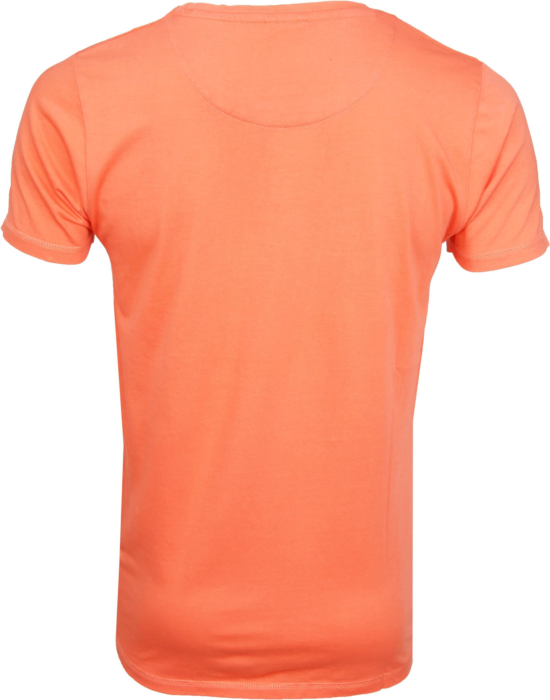 Dstrezzed T-shirt Logo Oranje foto 2