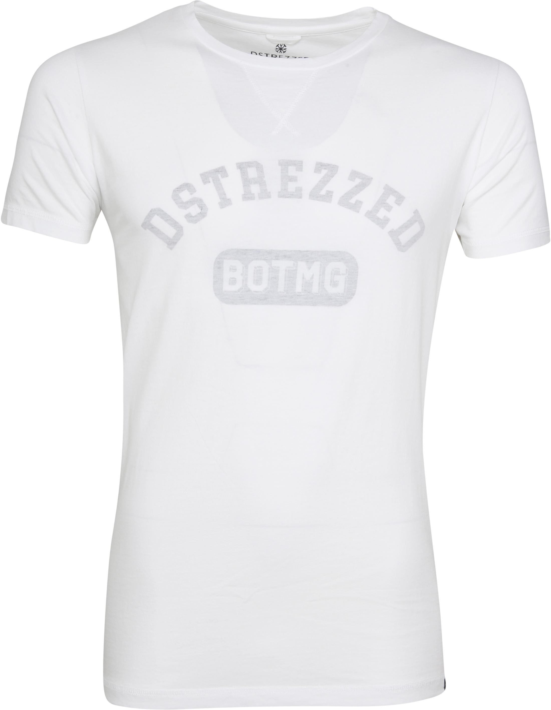 Dstrezzed T-shirt Logo Wit