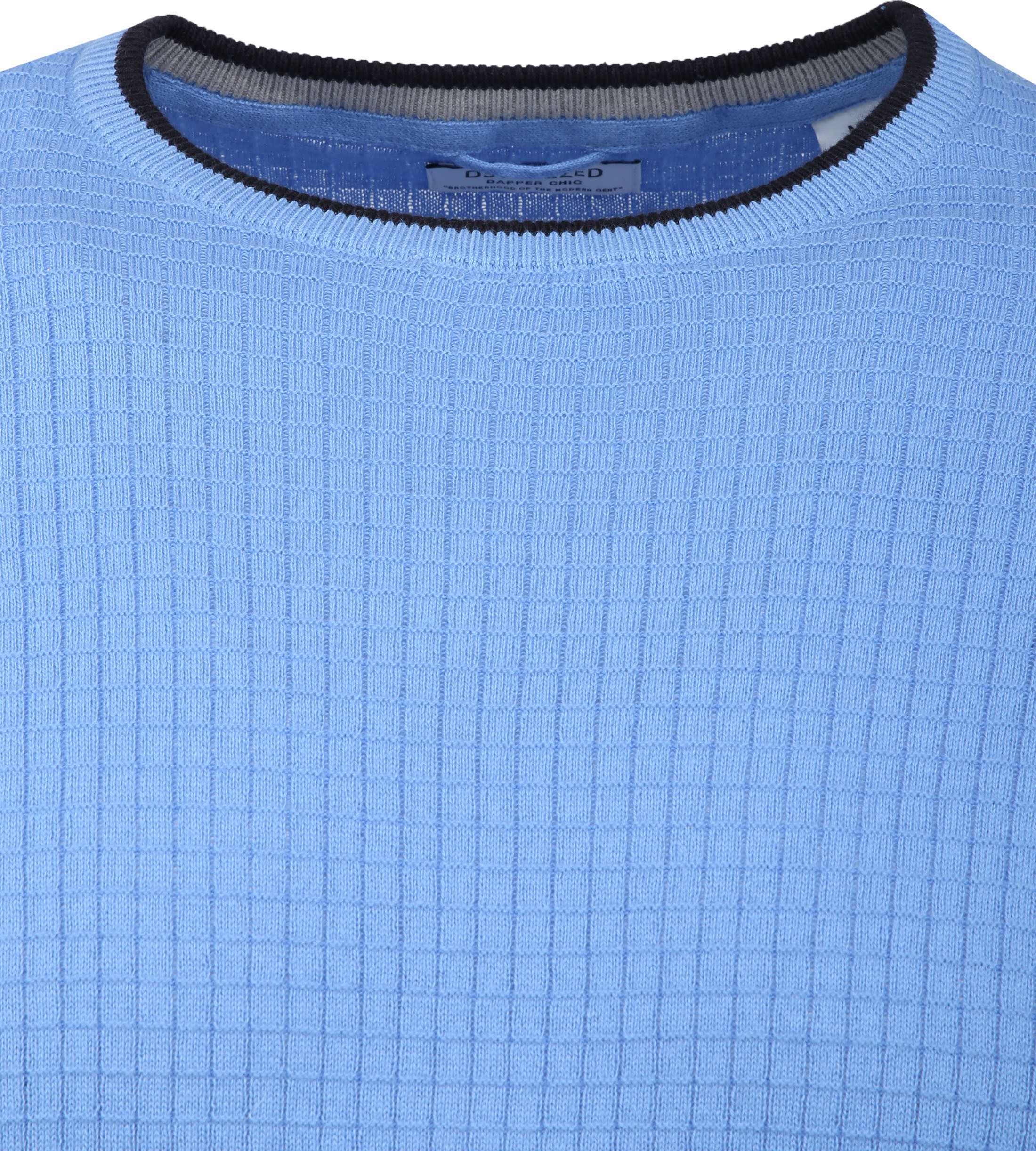 Dstrezzed T-shirt Square Lichtblauw