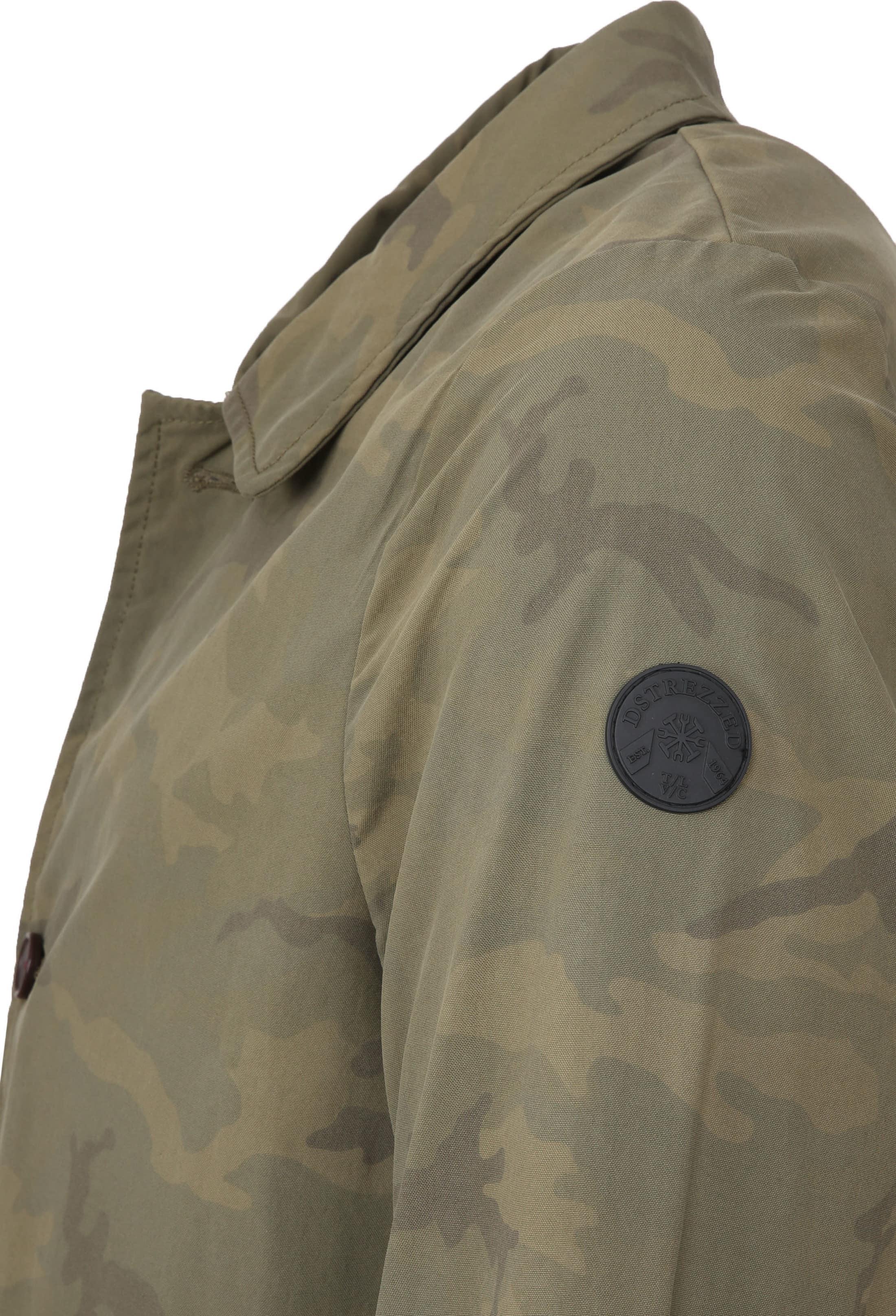 Dstrezzed Trenchcoat Camo Army foto 2
