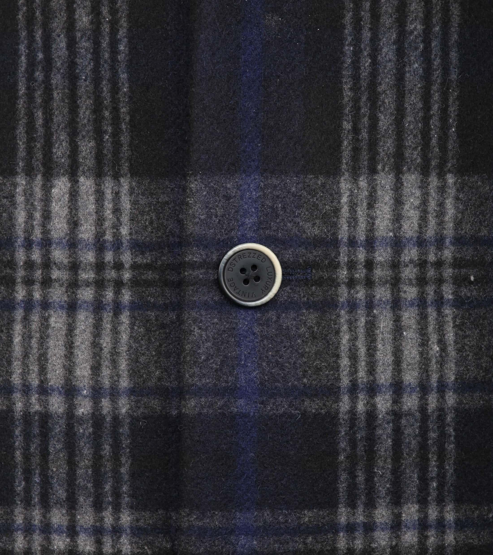 Dstrezzed Wool Check Coat foto 2
