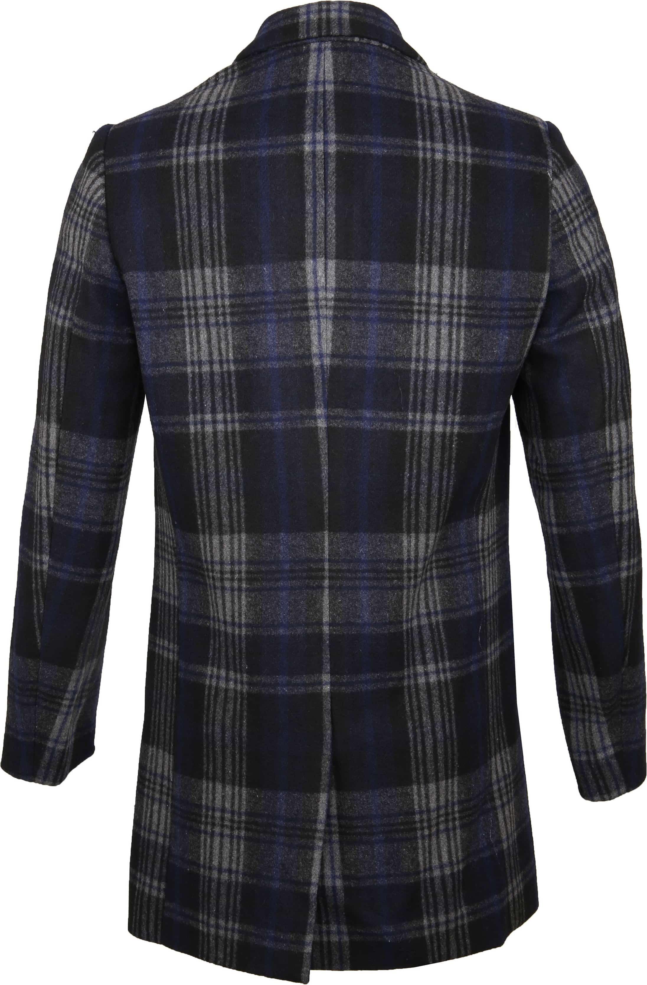 Dstrezzed Wool Check Coat foto 3