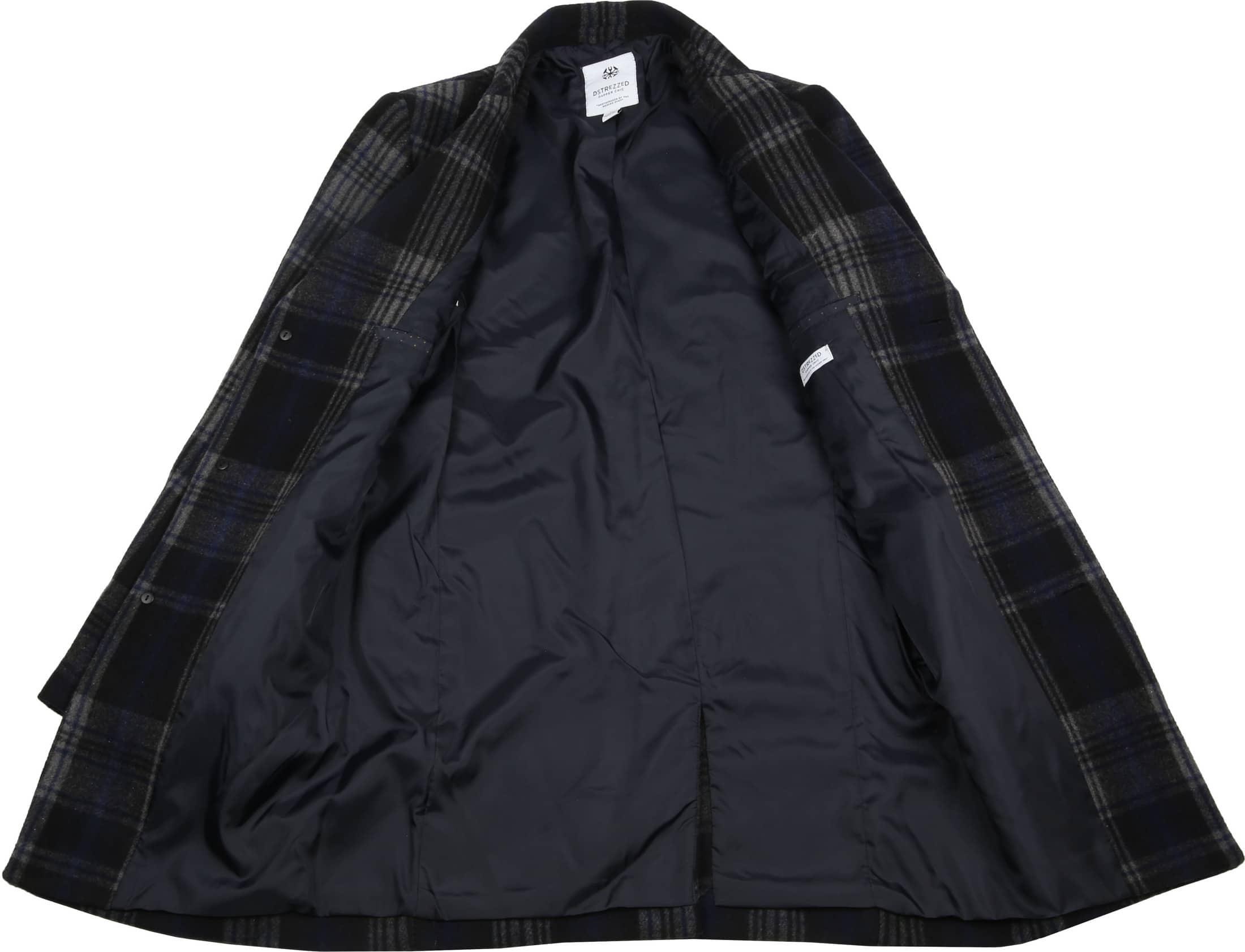 Dstrezzed Wool Check Coat foto 4