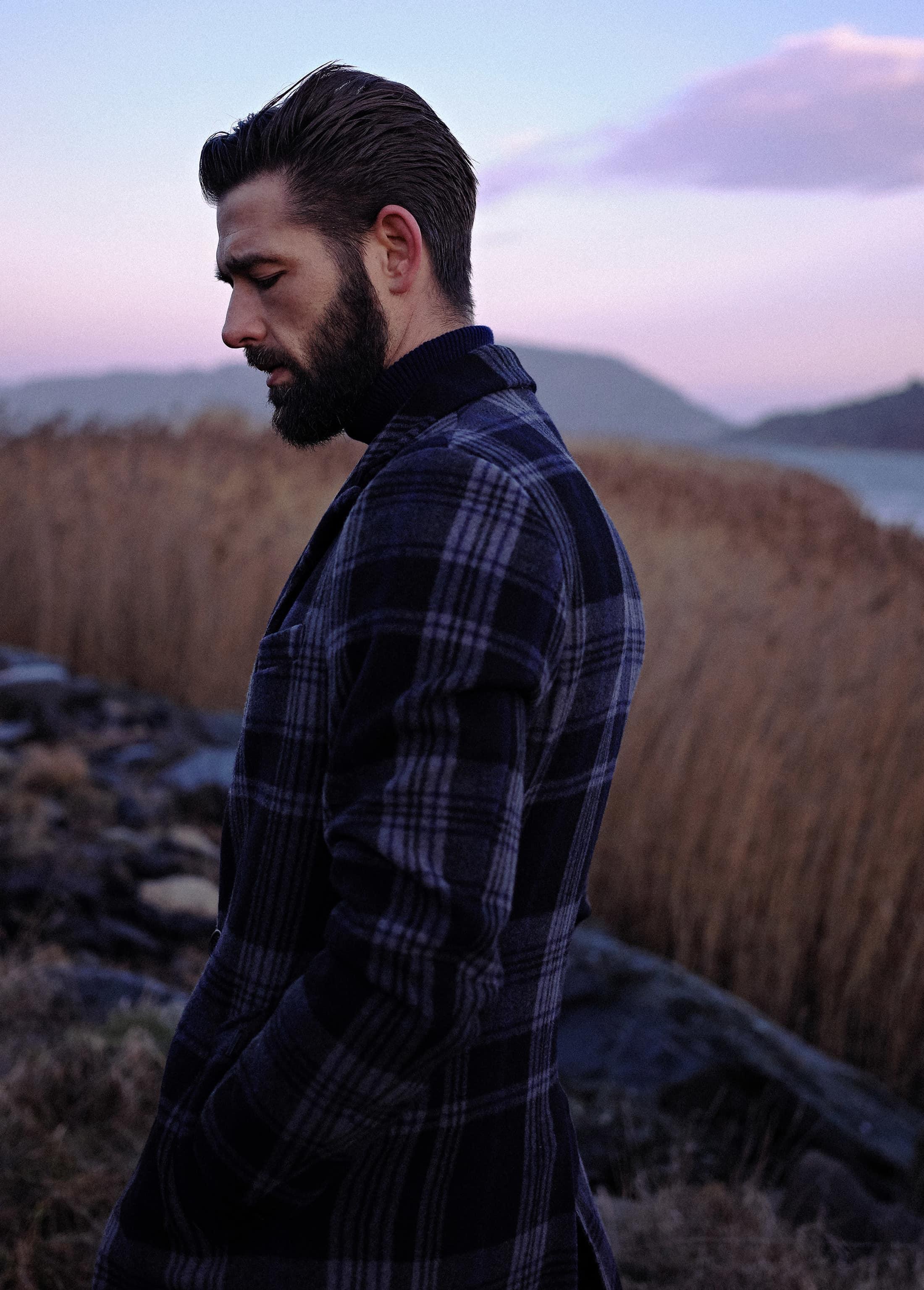 Dstrezzed Wool Check Coat foto 5