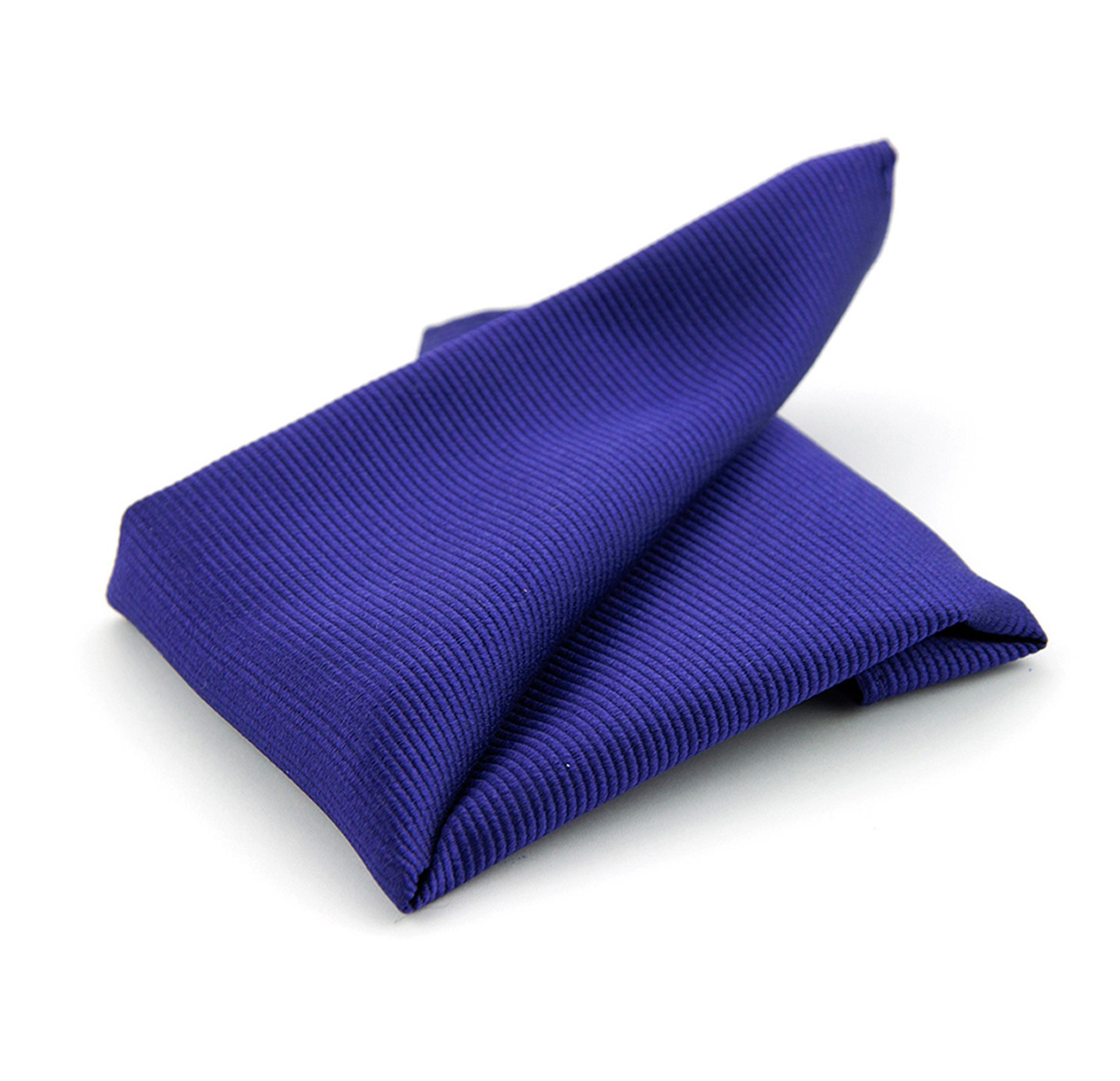 Einstecktuch Seide Blau Lila F55