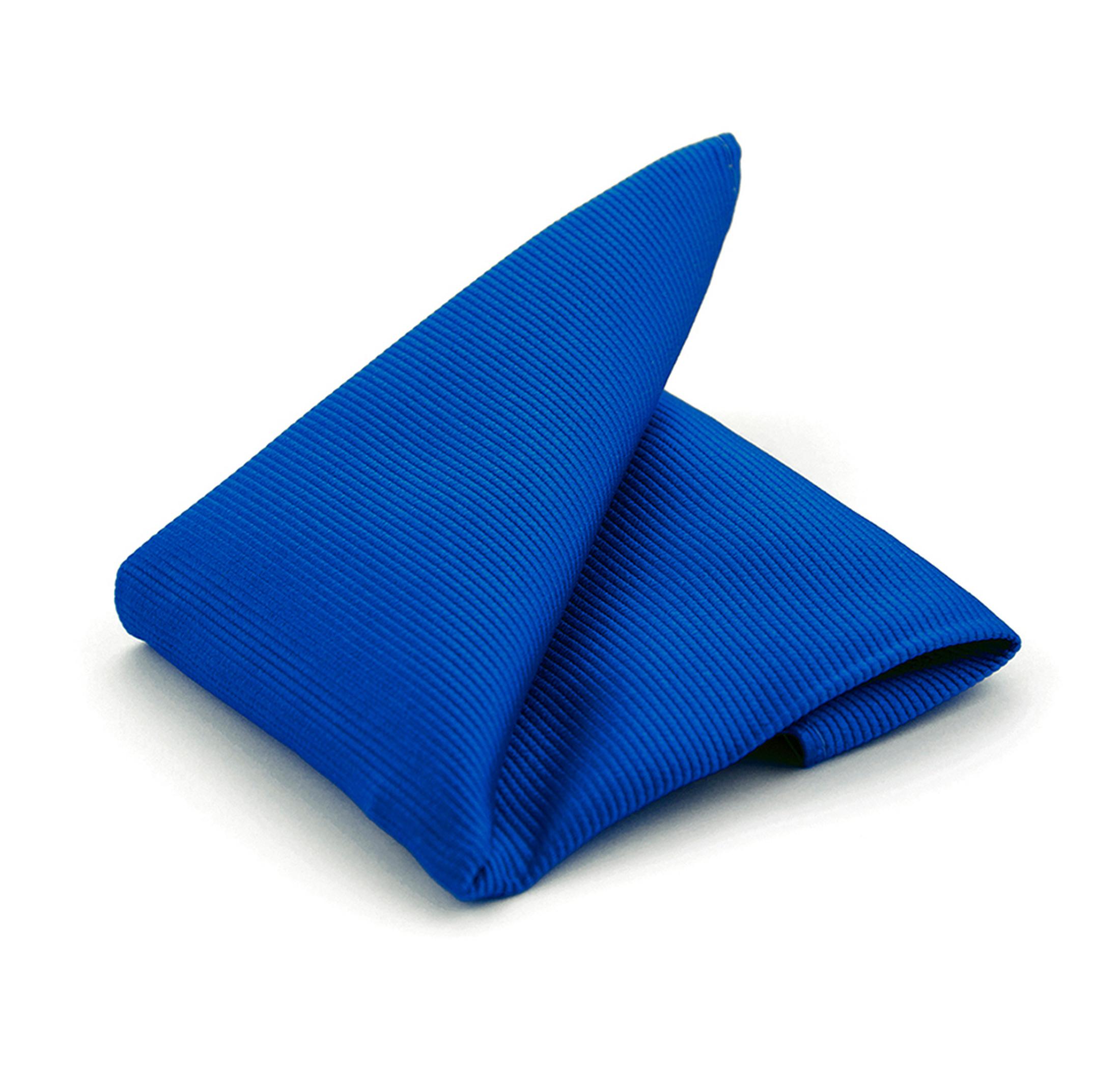 Einstecktuch Seide Kolbaltblau F65 Foto 0