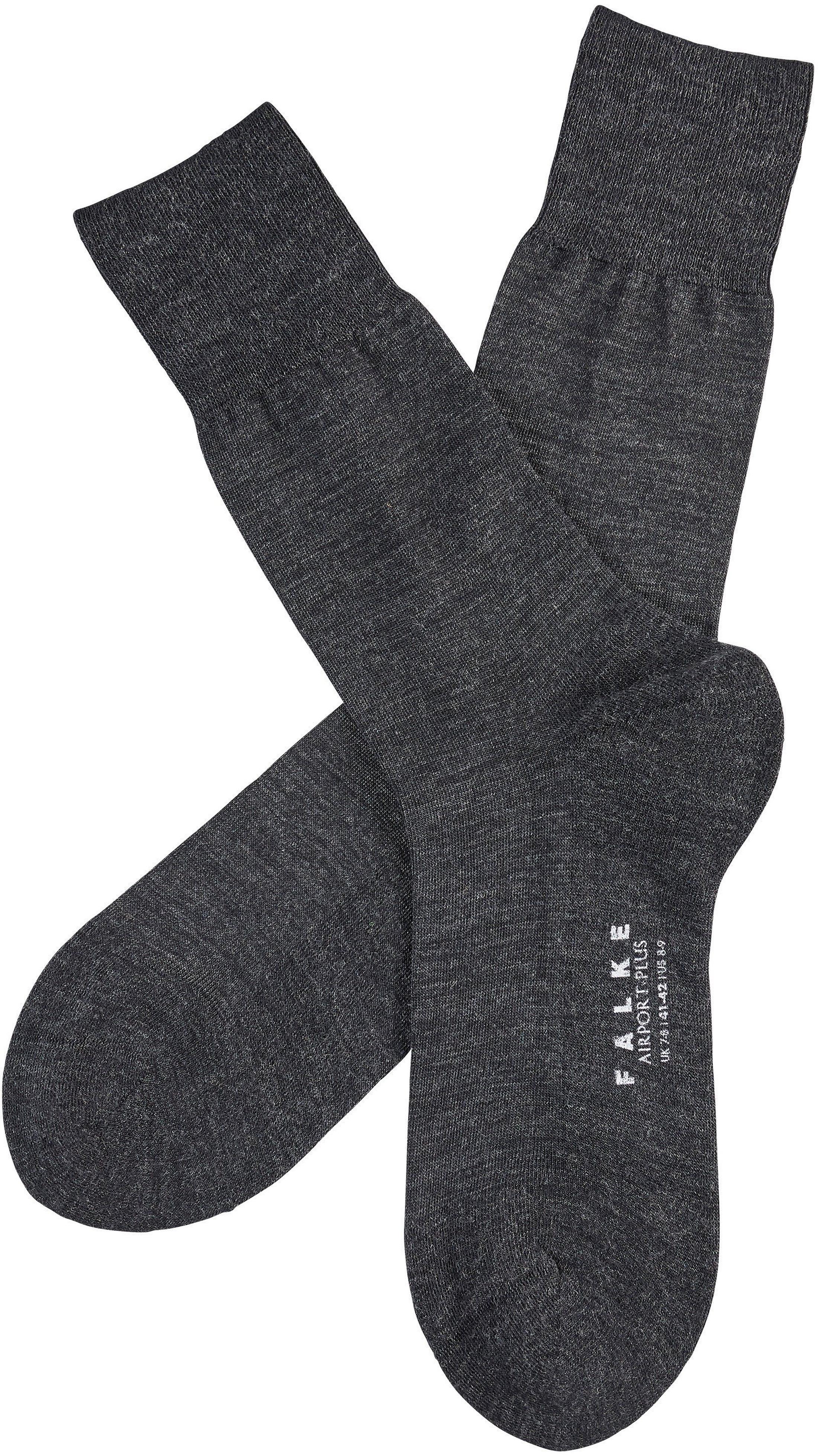 FALKE Airport PLUS Sockken Antra / Asphalt 3080