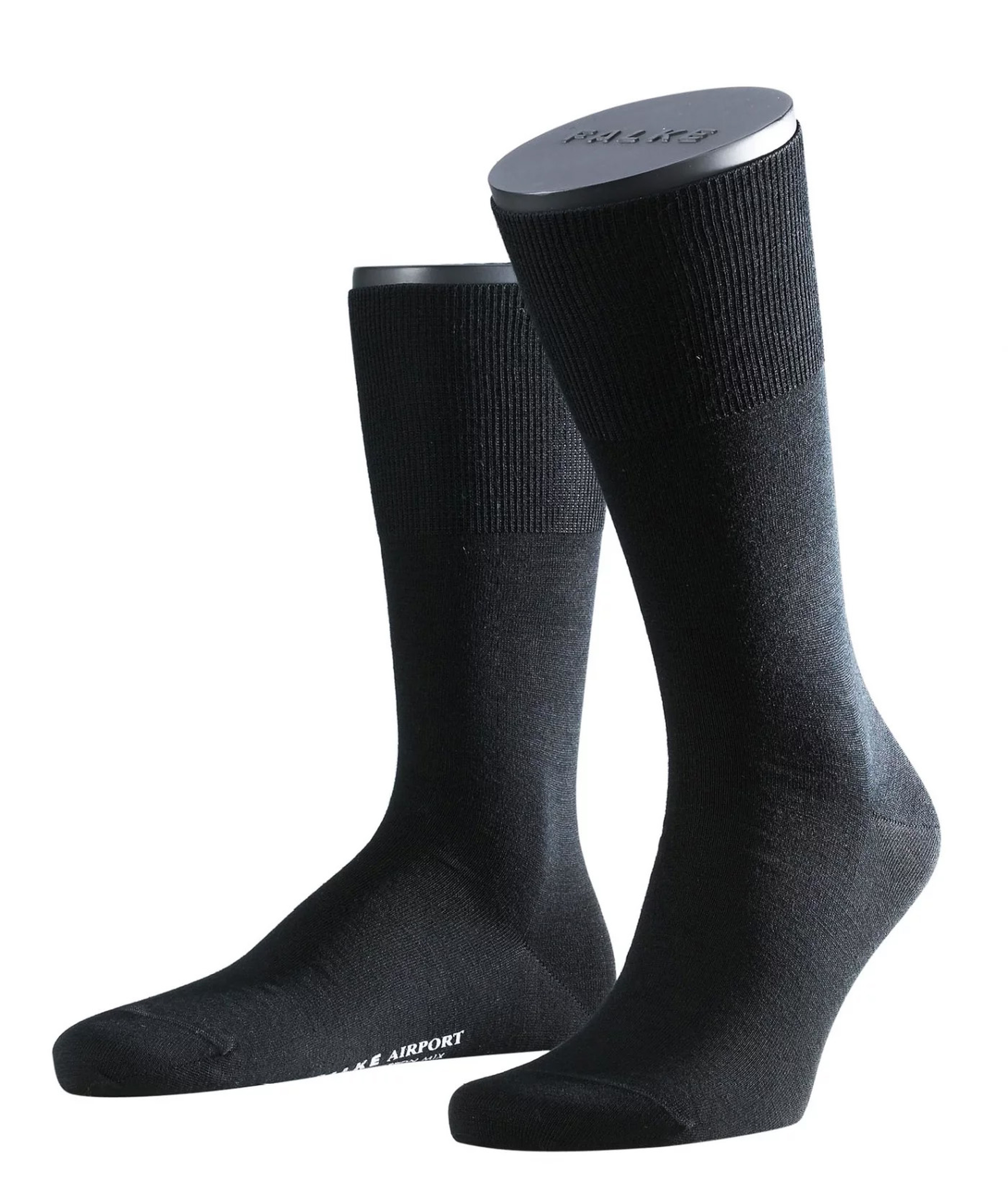 Falke Airport PLUS Socks Black 3000 foto 0