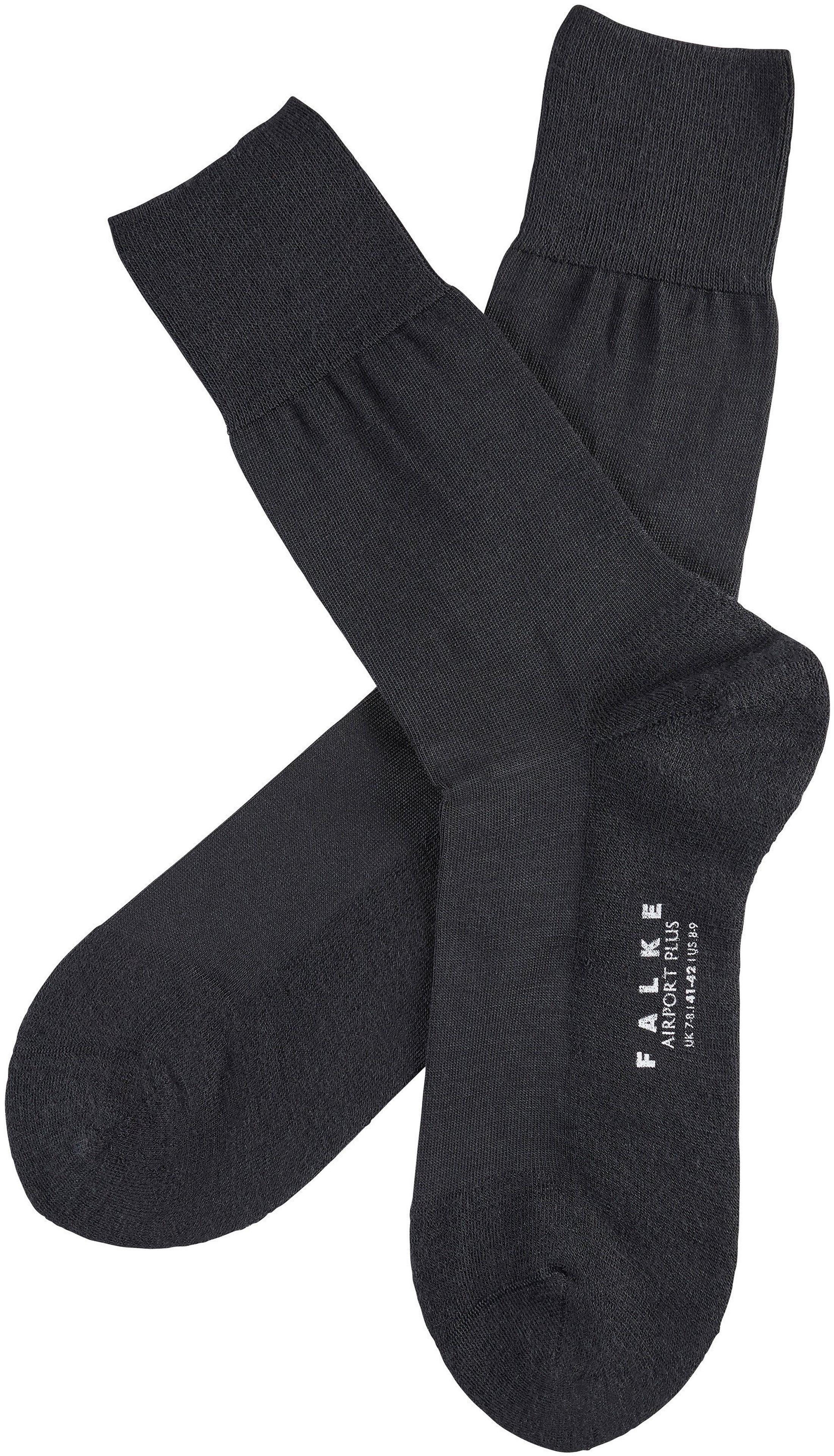 Falke Airport PLUS Socks Black 3000