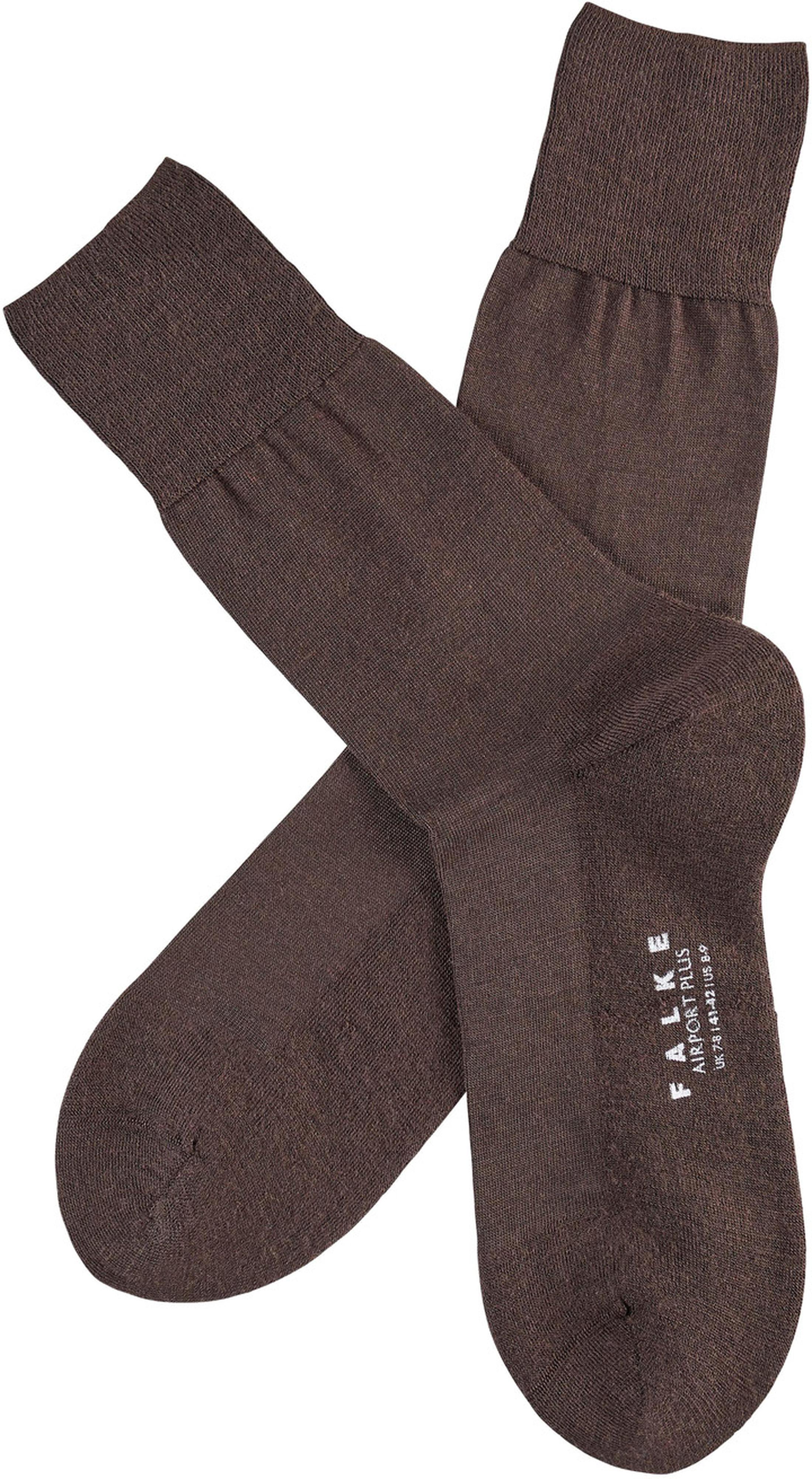 Falke Airport PLUS Socks Brown 5930