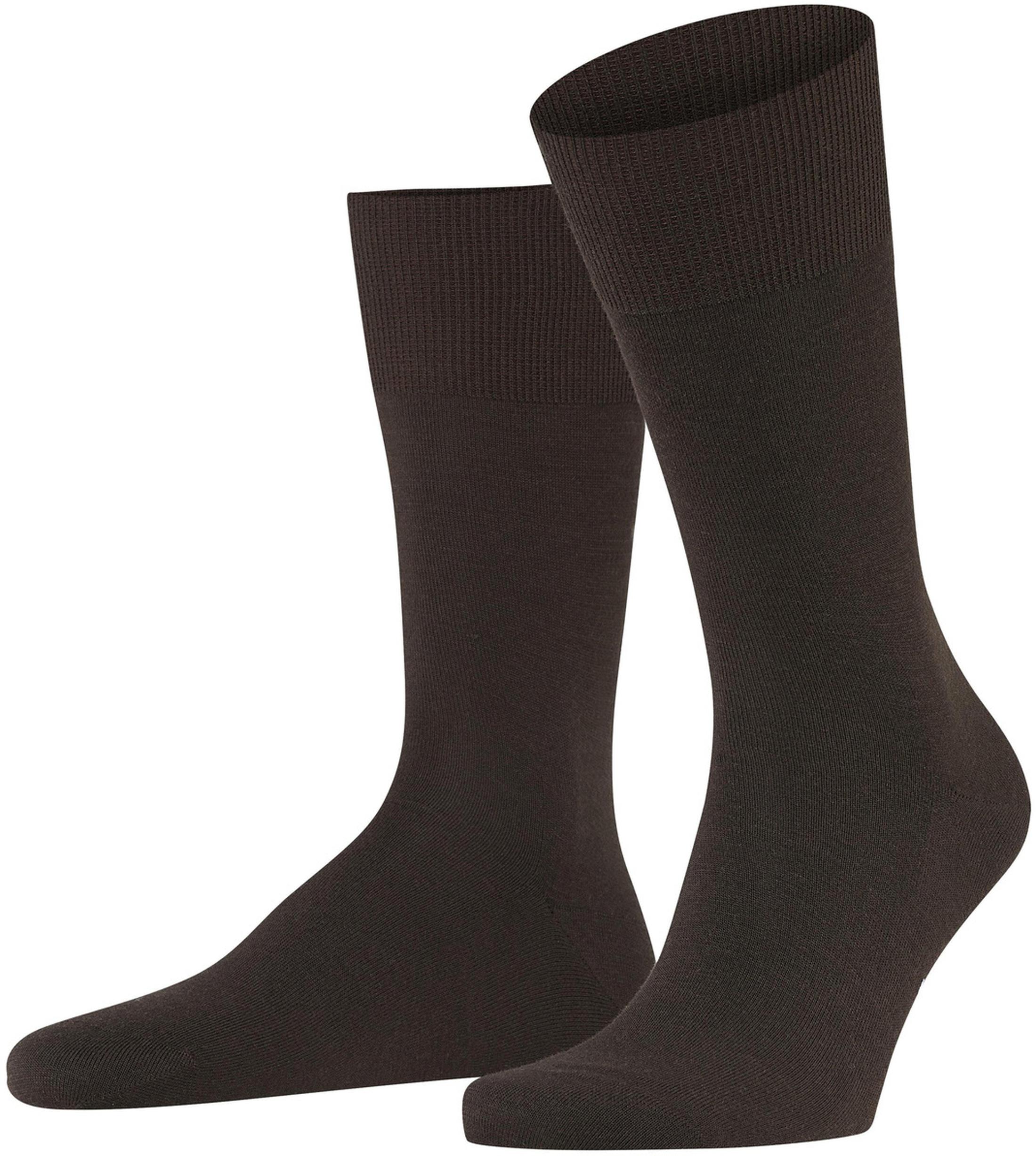 FALKE Airport Socken Braun 5930