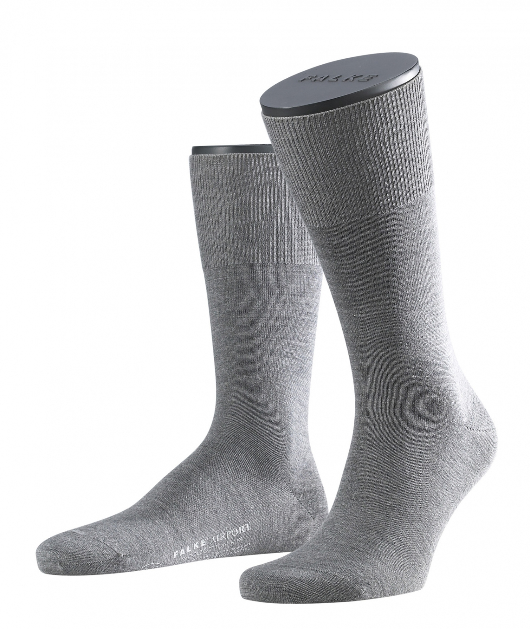 FALKE Airport Socken Grau 3070 foto 0
