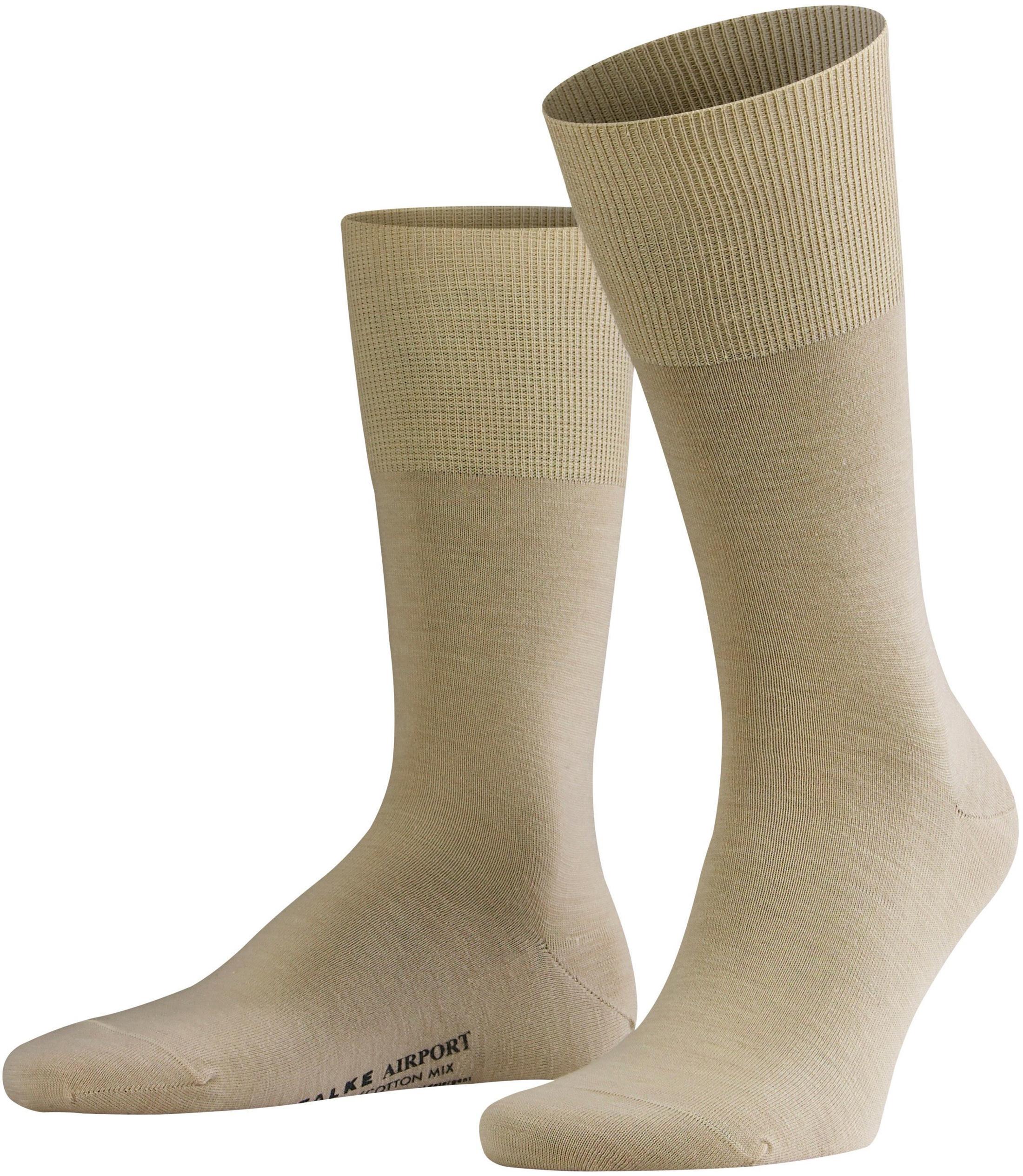 Falke AIRPORT Socken schwarz