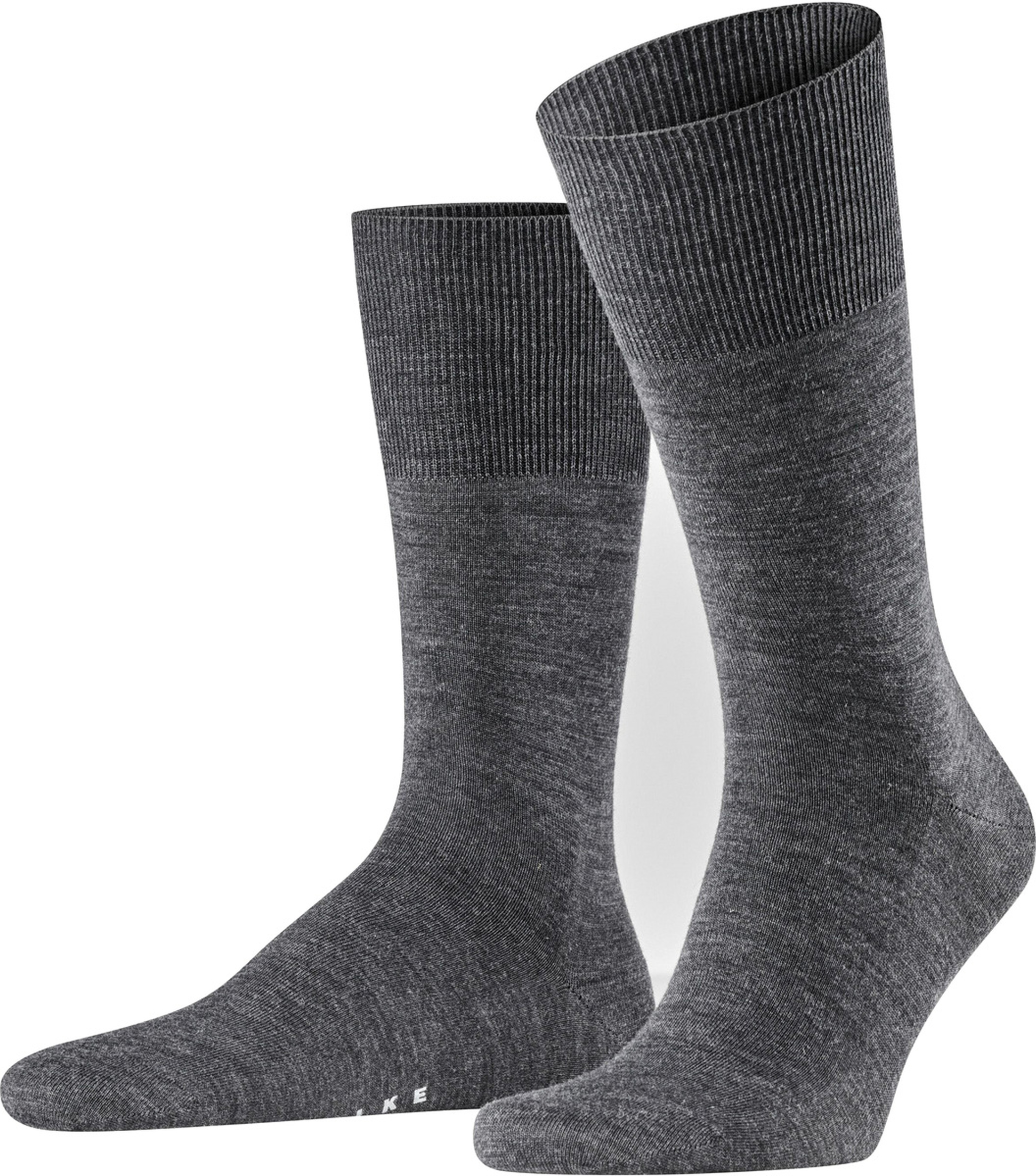 Falke Airport Socks Asphalt 3180