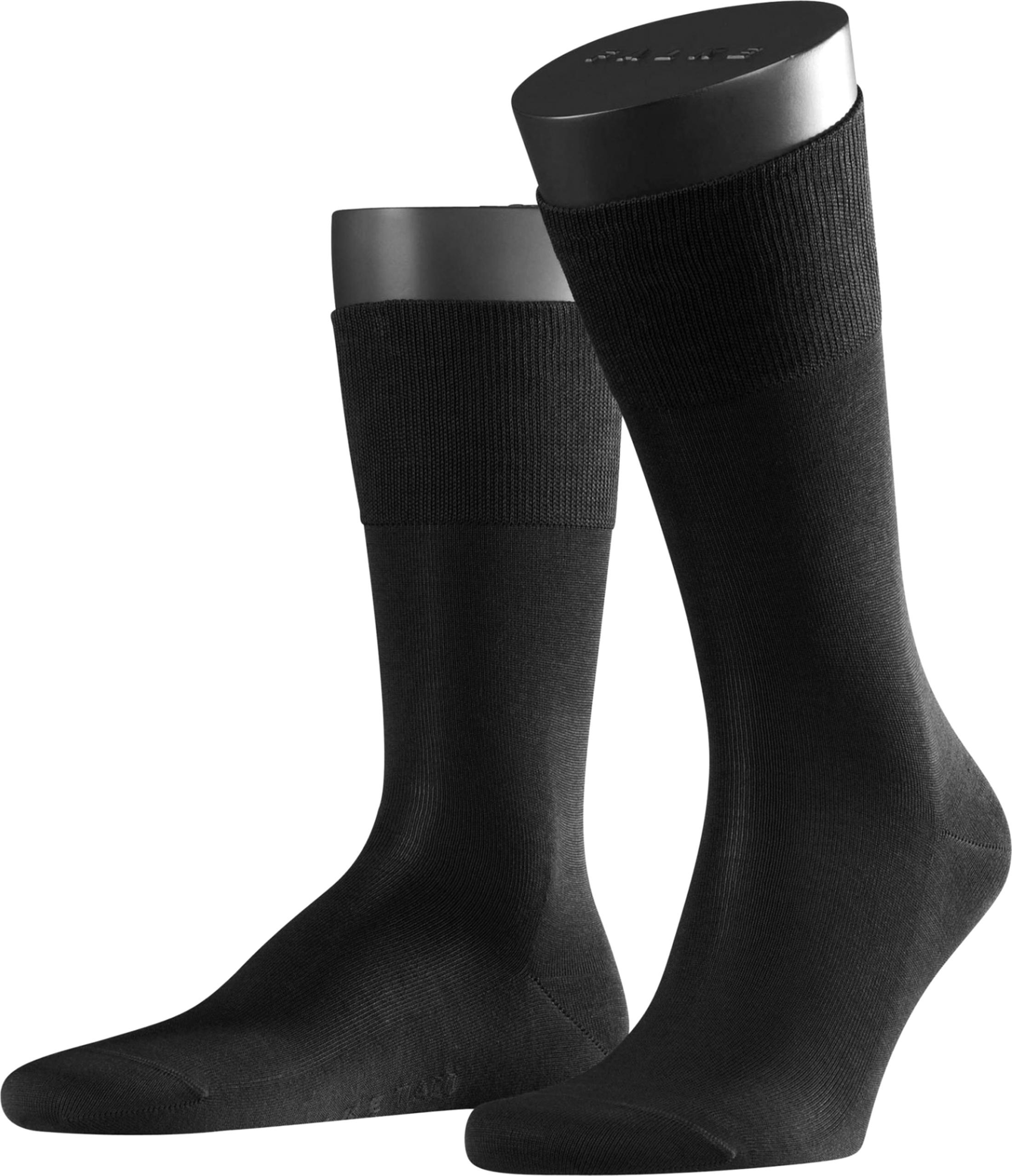 Falke Airport Socks Black 3000 foto 0