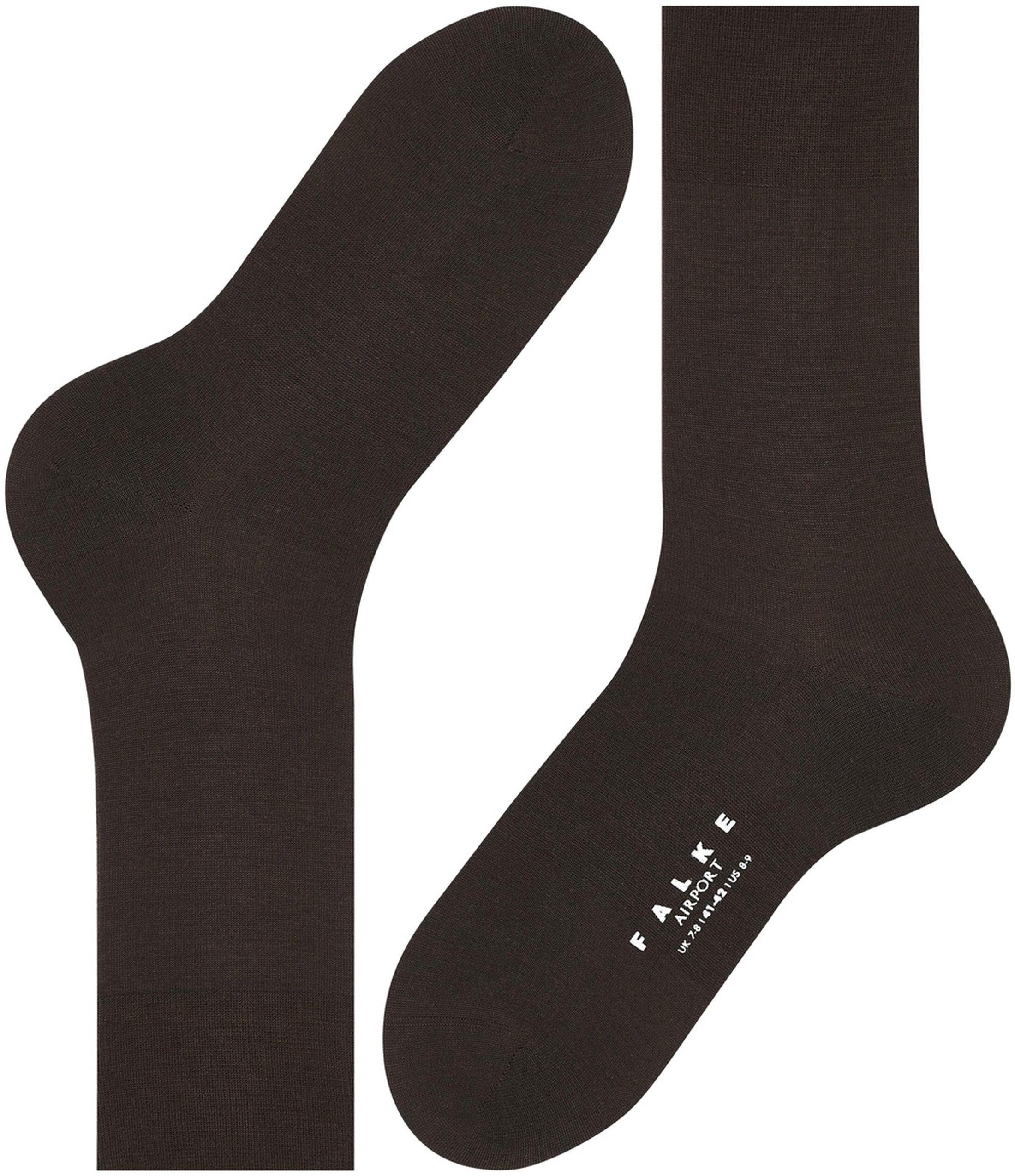 Falke Airport Socks Brown 5930