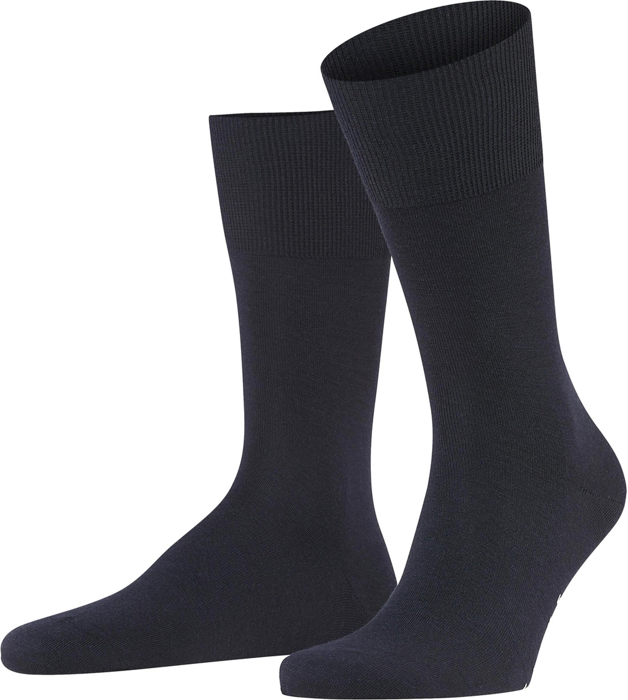 Falke Airport Socks Navy 6370