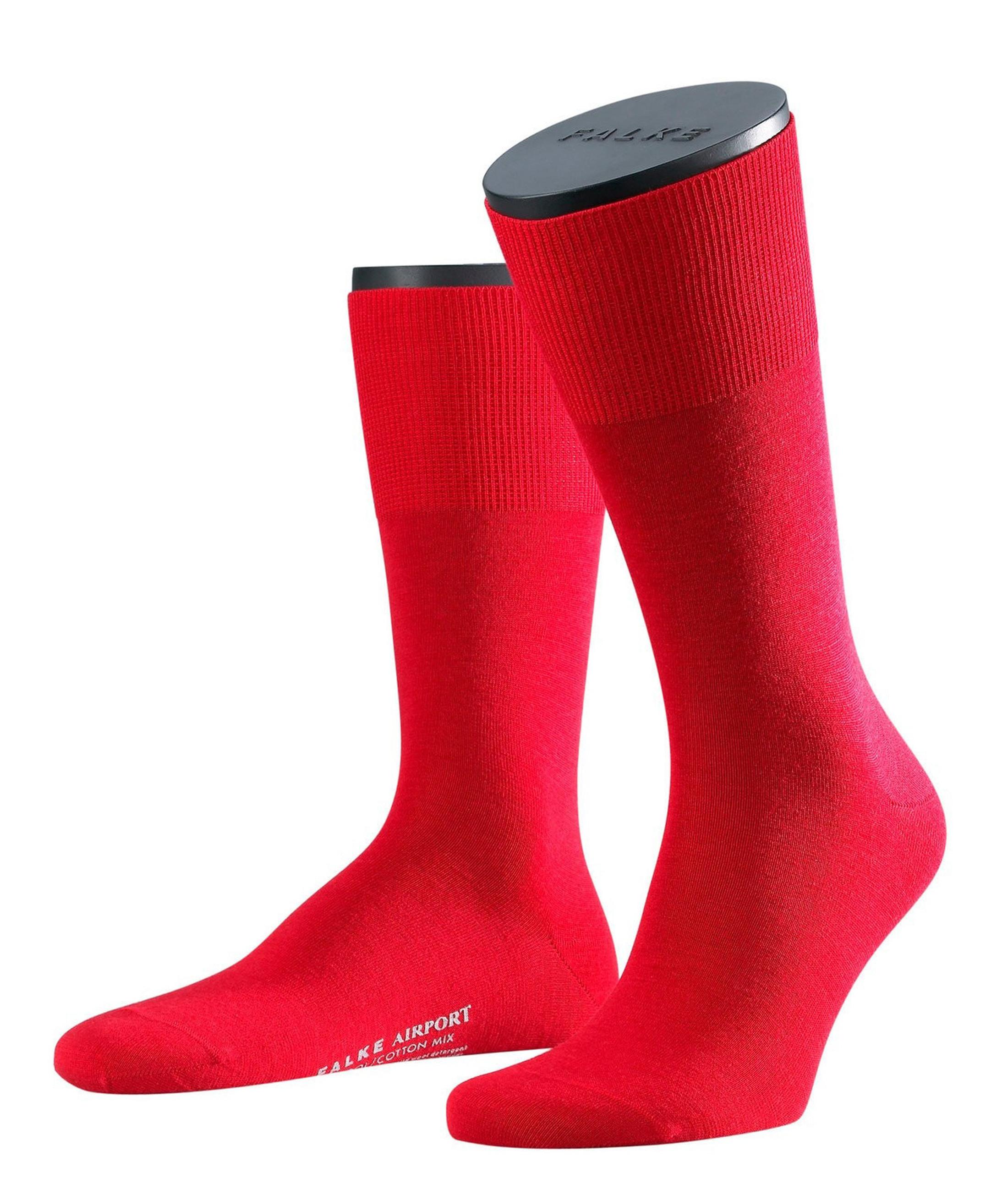 Falke Airport Socks Red 8120 foto 0