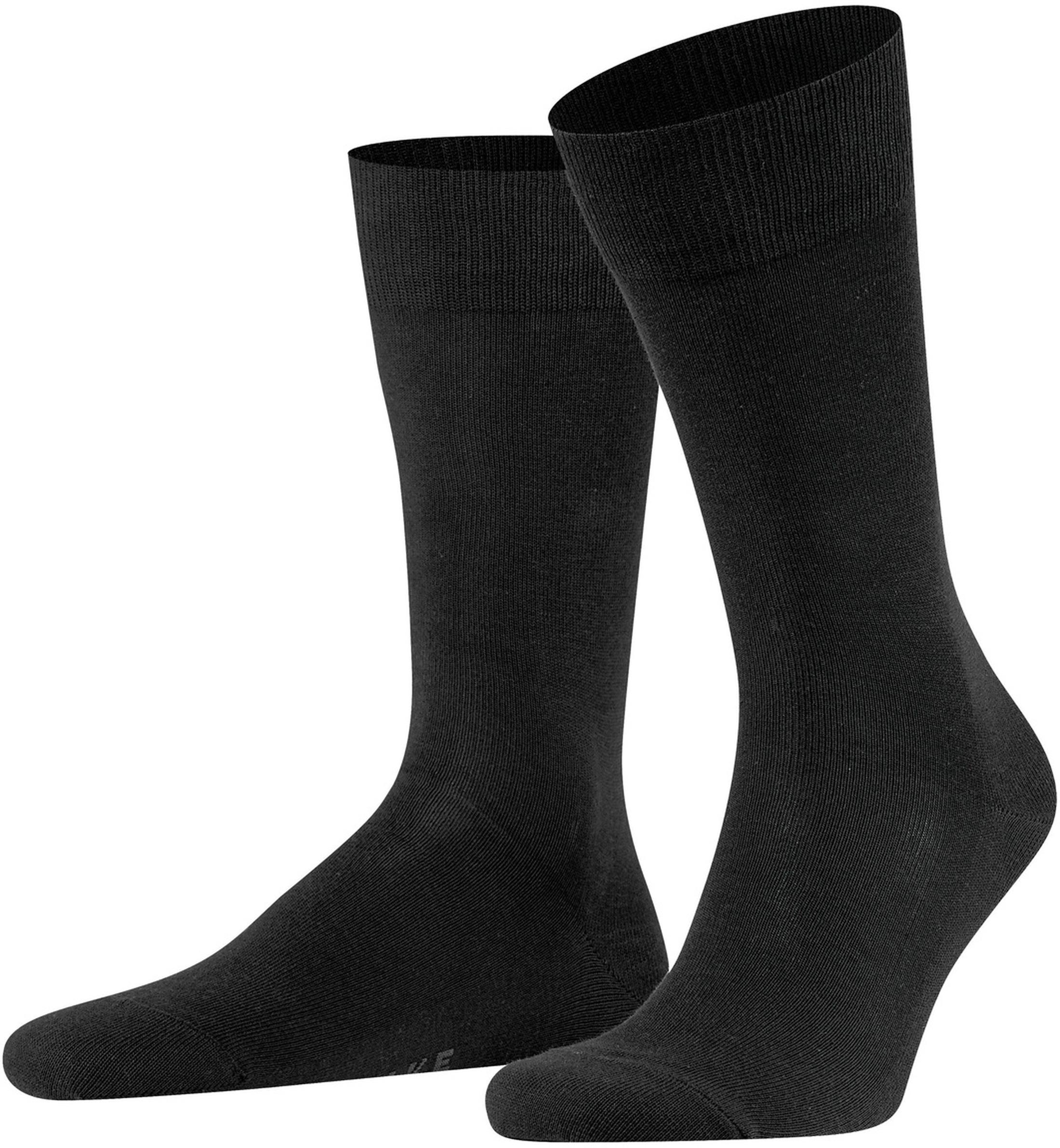 Falke Family Socks Black 3000