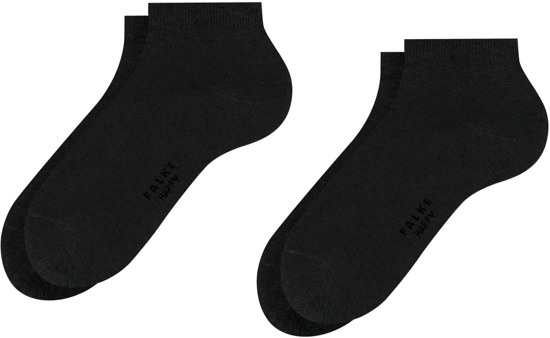 Falke Happy Sokken 2 Paar Zwart
