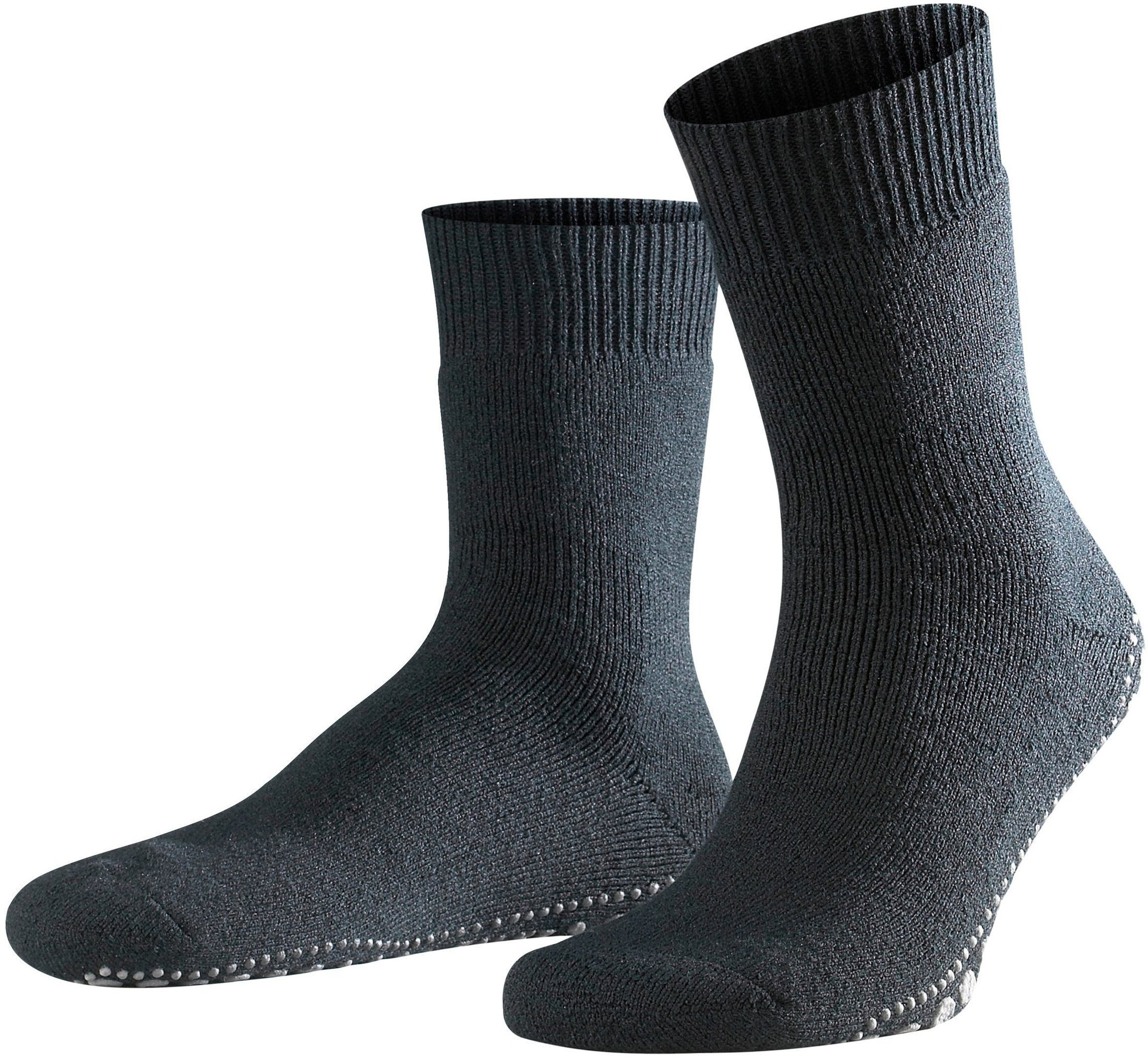 Falke Homepad House Socks Dark Black