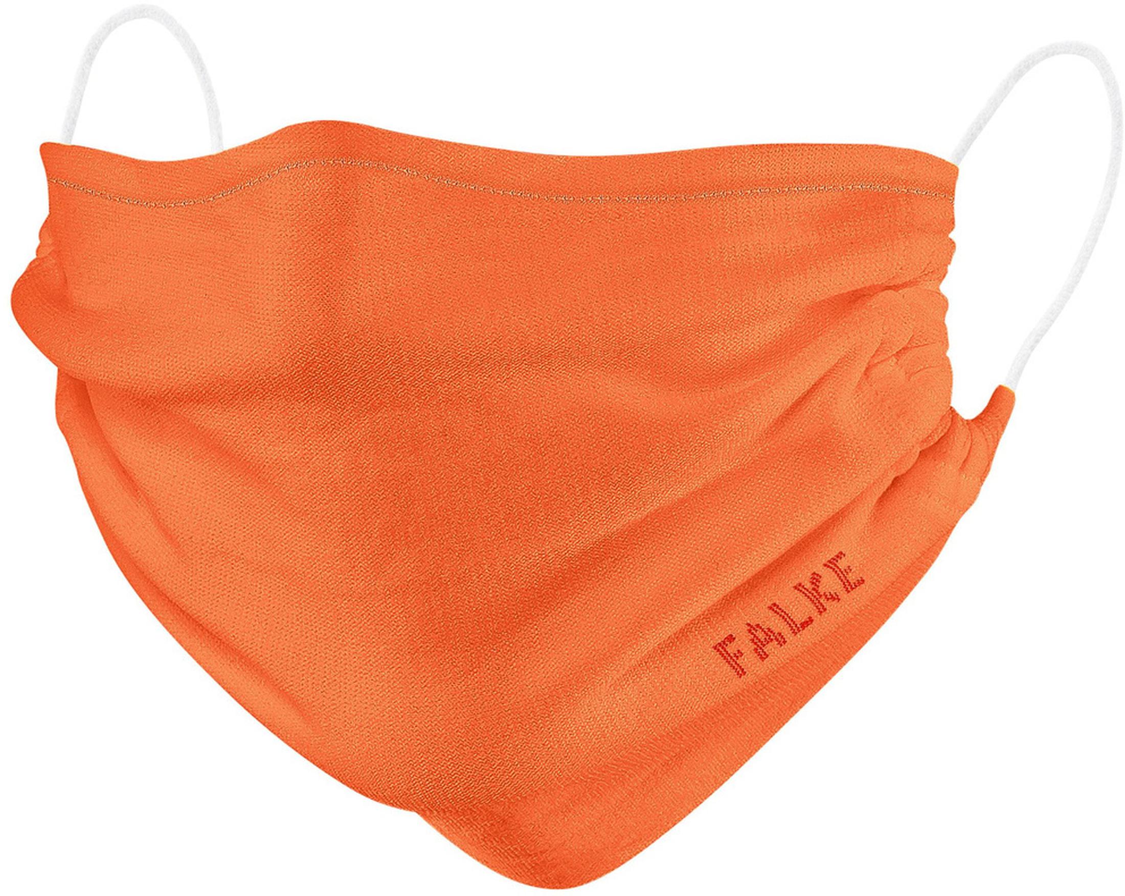 Falke Mondkapje Oranje 2 Pack