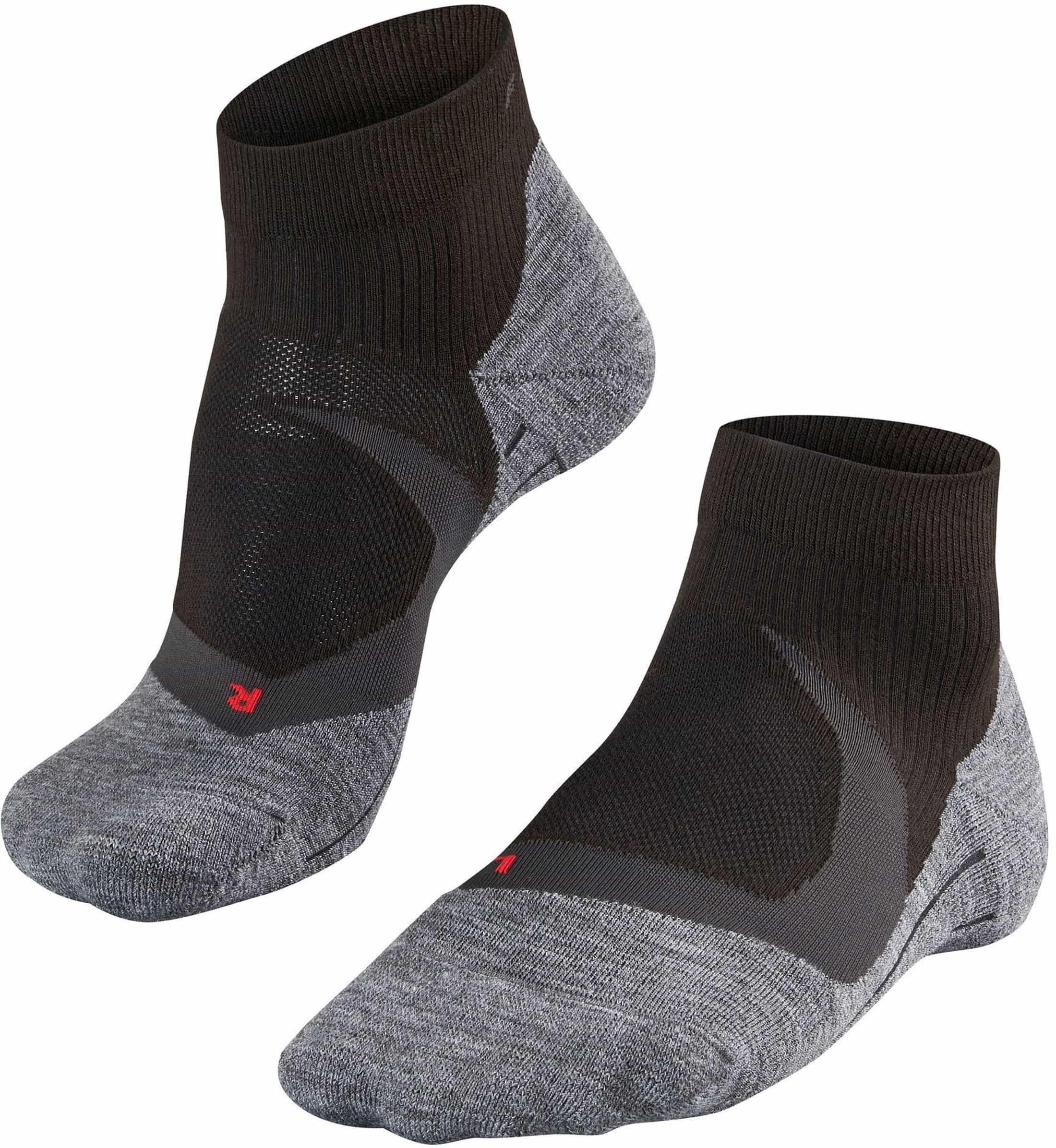 Falke RU4 Cool Short Socken Schwarz foto 0