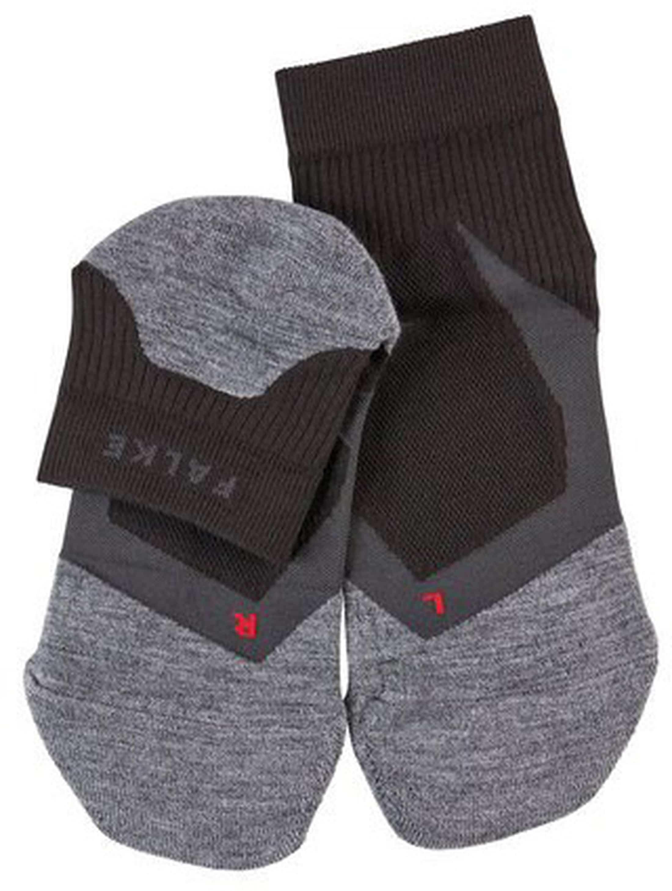 Falke RU4 Cool Short Socken Schwarz foto 1