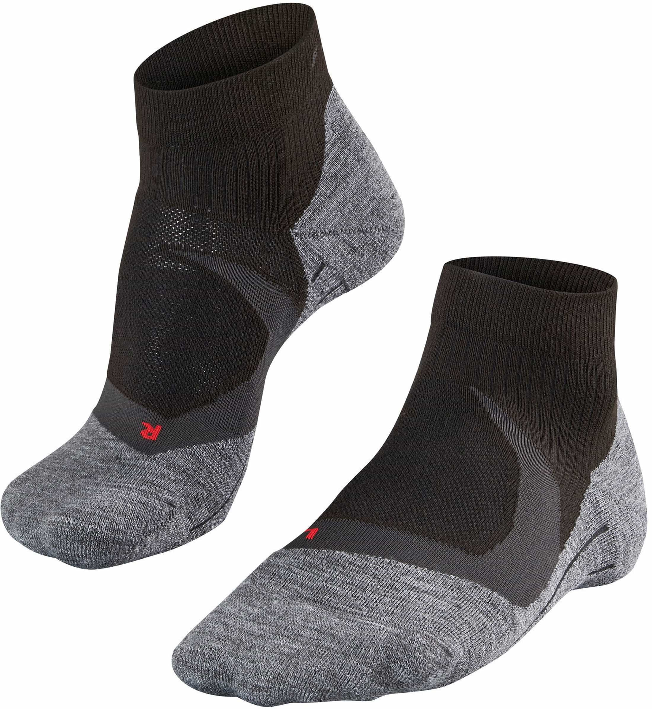 Falke RU4 Cool Short Sokken Zwart