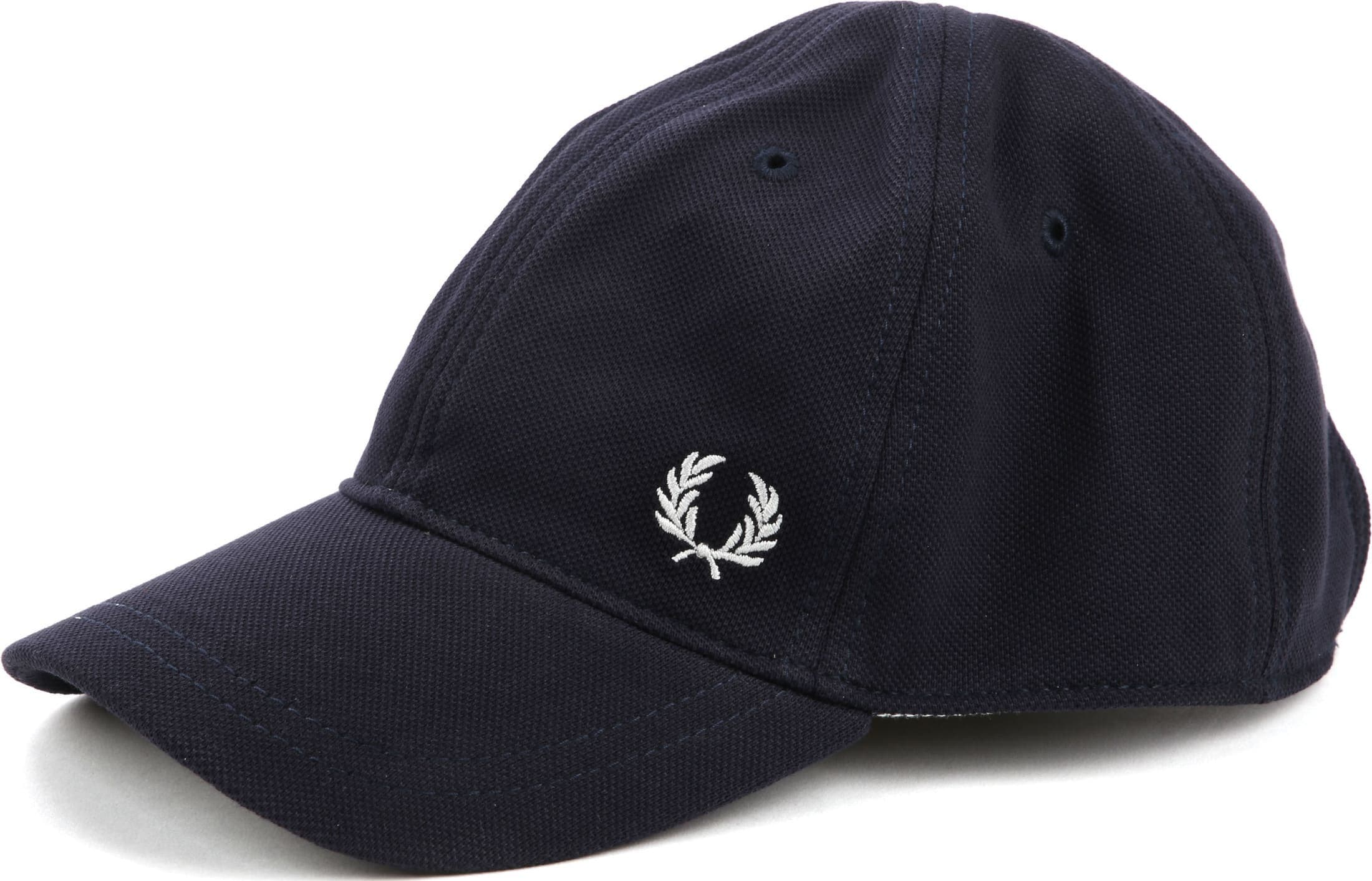Fred Perry A27 Cap Donkerblauw foto 0